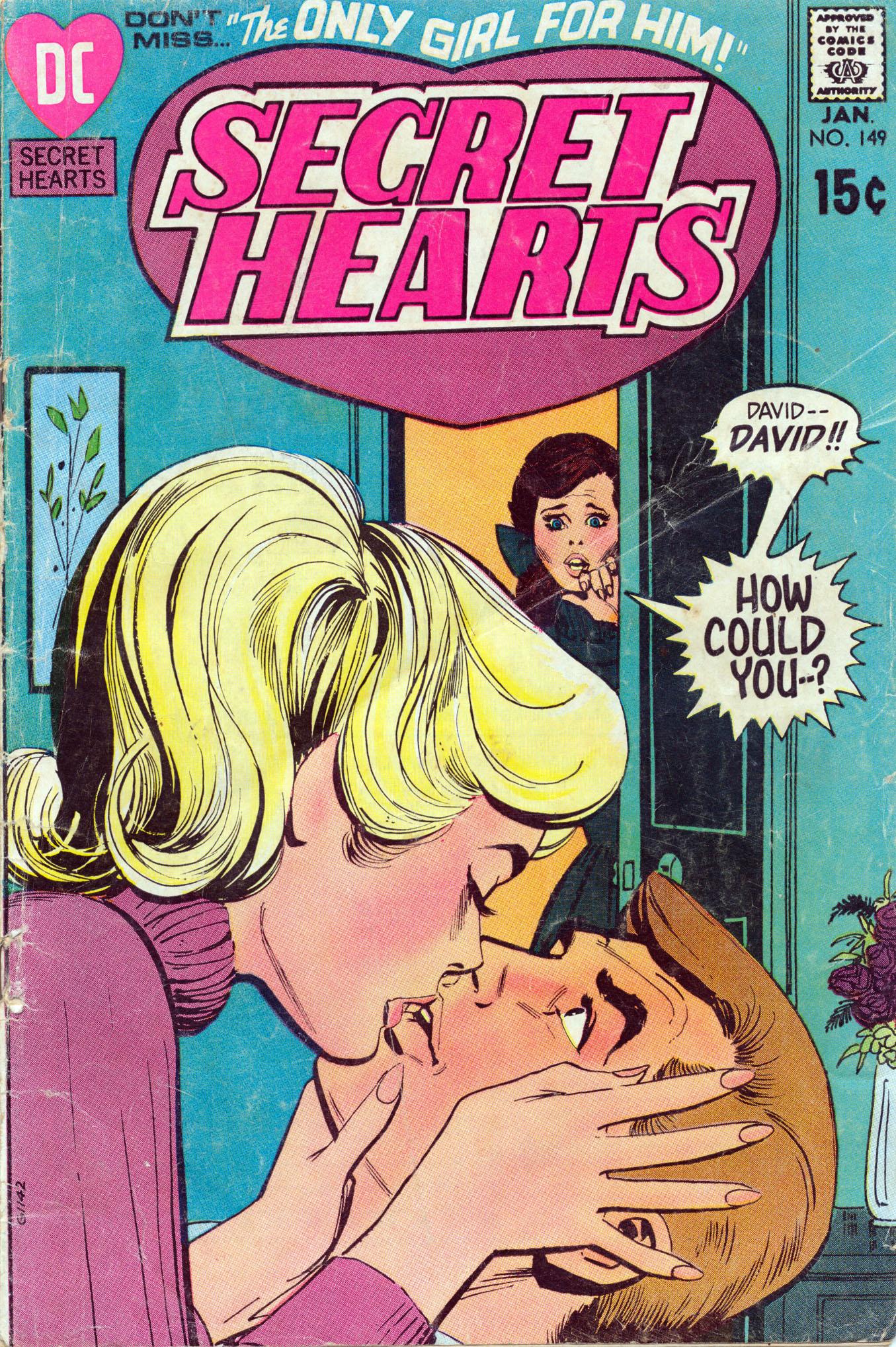 Read online Secret Hearts comic -  Issue #149 - 1