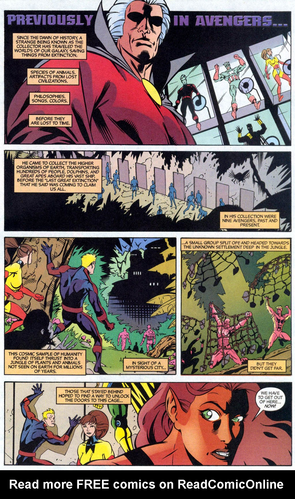 Read online Avengers United They Stand comic -  Issue #7 - 2