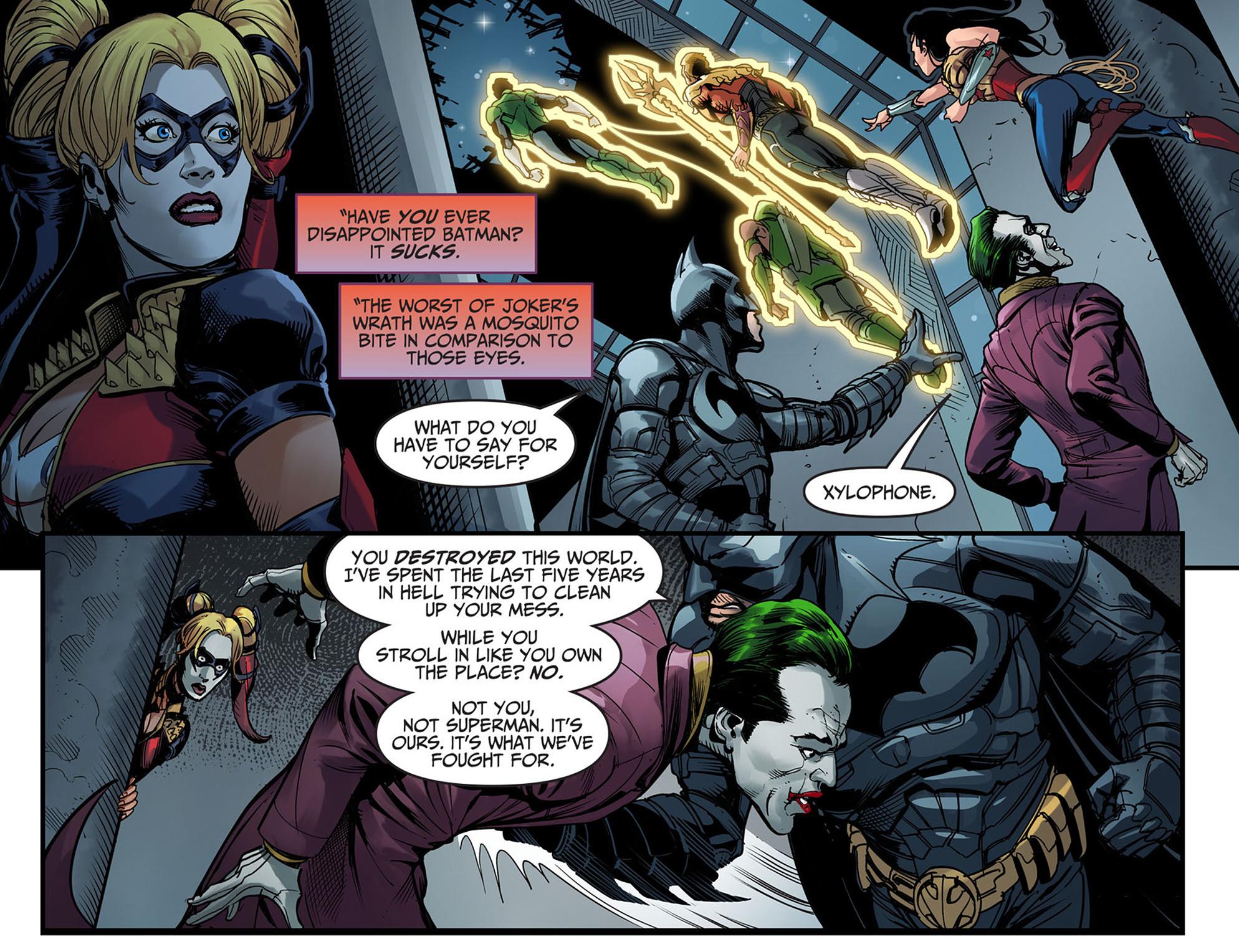 Read online Injustice: Ground Zero comic -  Issue #6 - 18