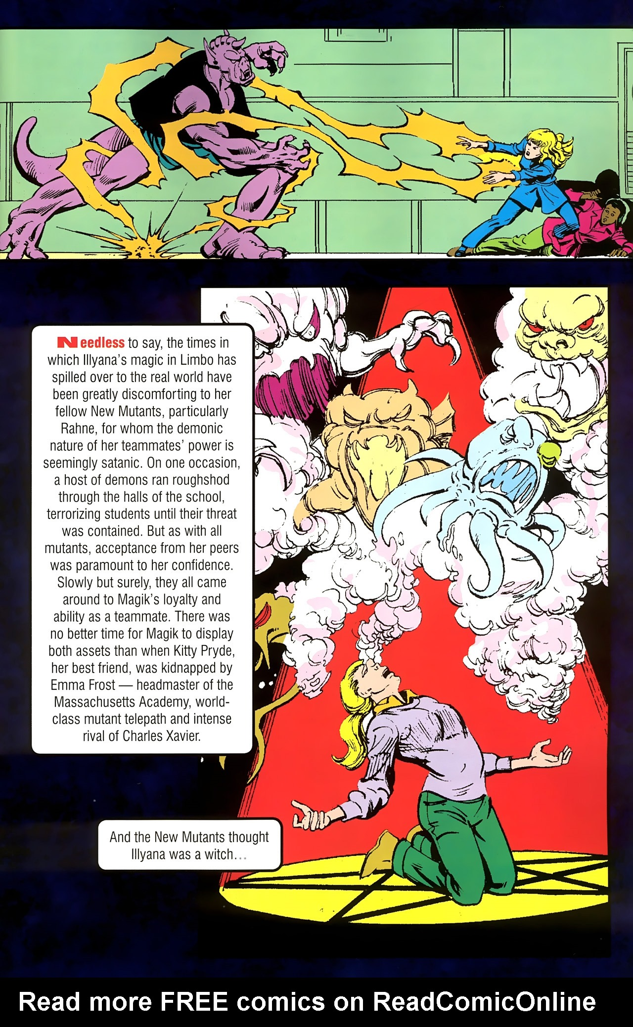 Read online New Mutants Saga comic -  Issue # Full - 11