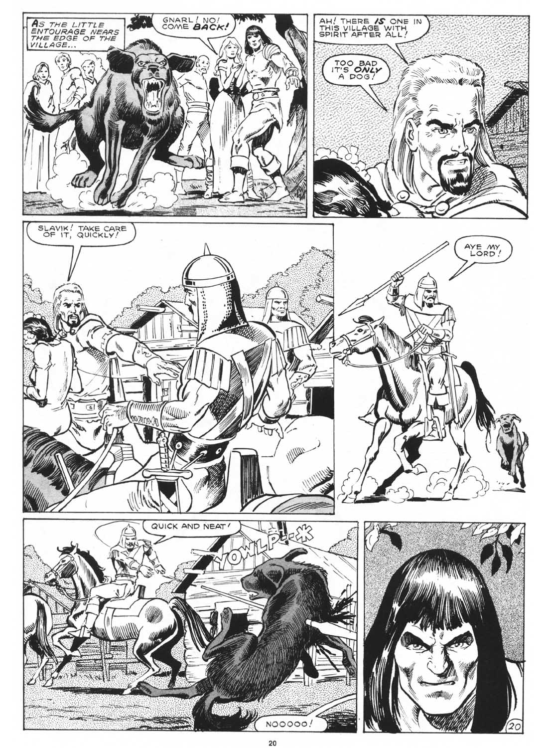 The Savage Sword Of Conan Issue #171 #172 - English 22