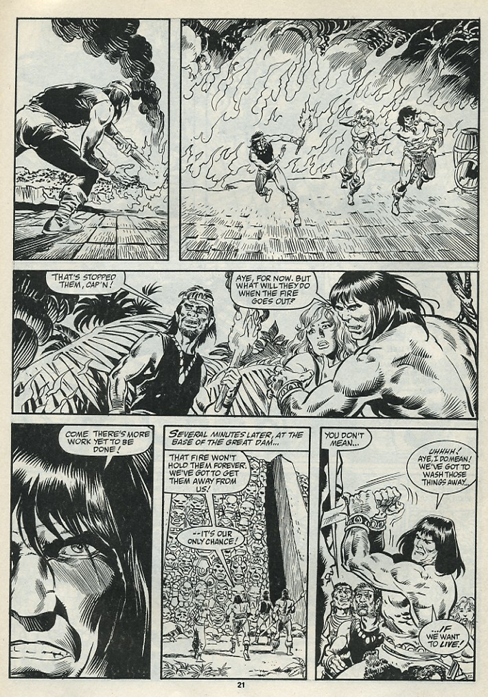 The Savage Sword Of Conan Issue #182 #183 - English 23