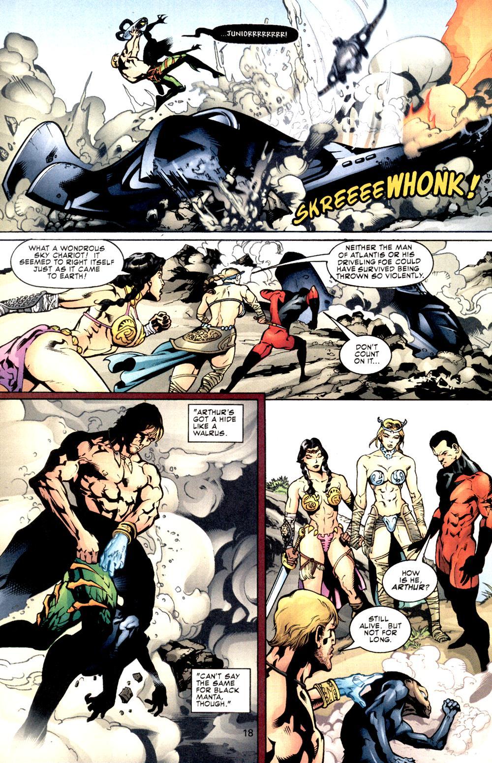 Aquaman (2003) Issue #8 #8 - English 19