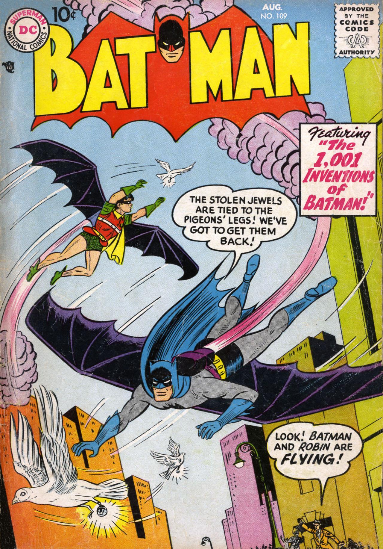 Batman (1940) 109 Page 1