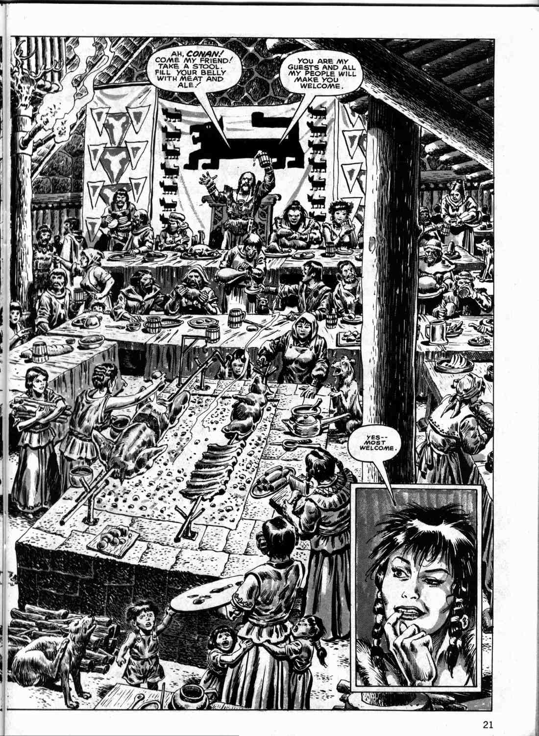 The Savage Sword Of Conan Issue #133 #134 - English 20