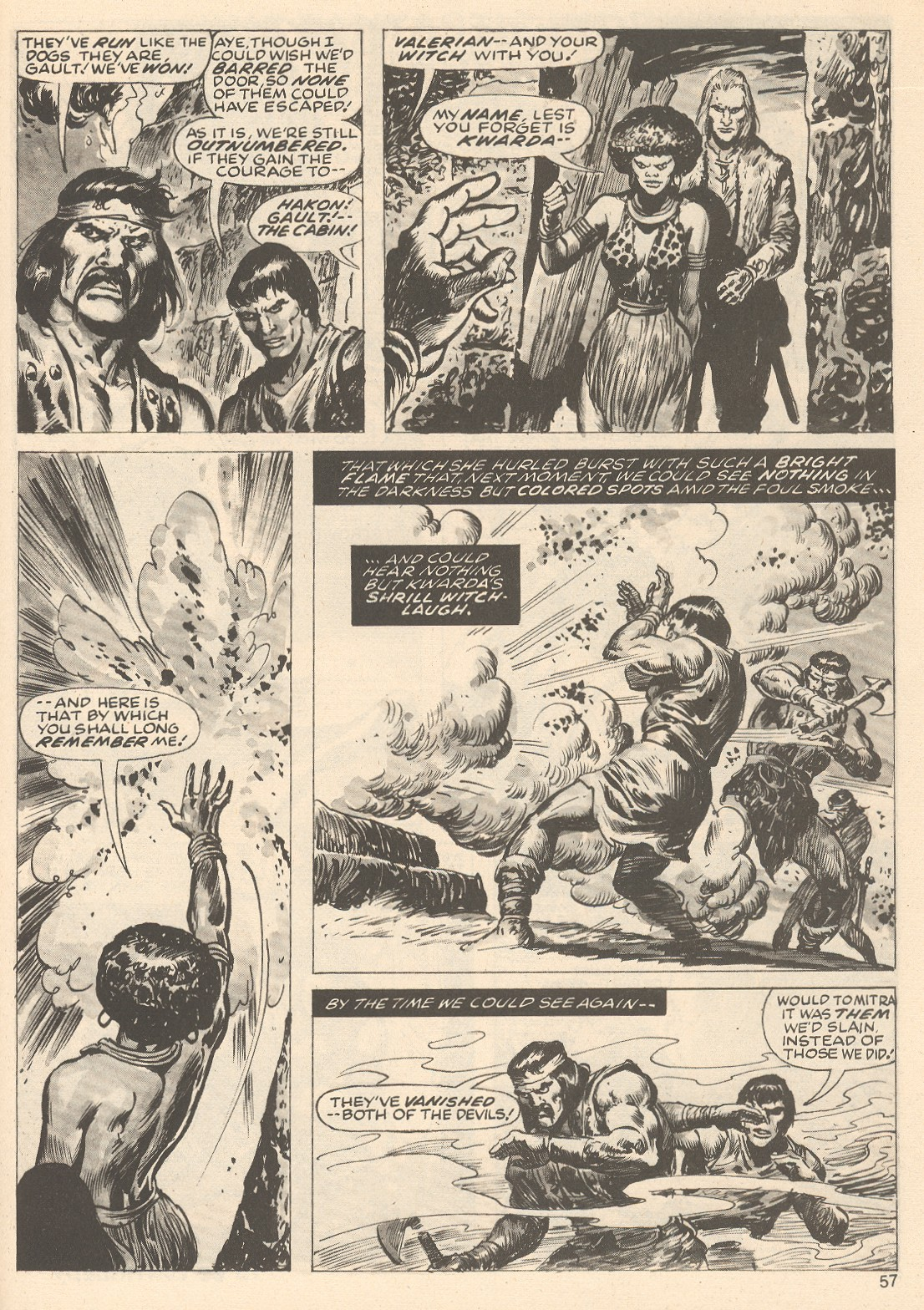 The Savage Sword Of Conan Issue #76 #77 - English 57