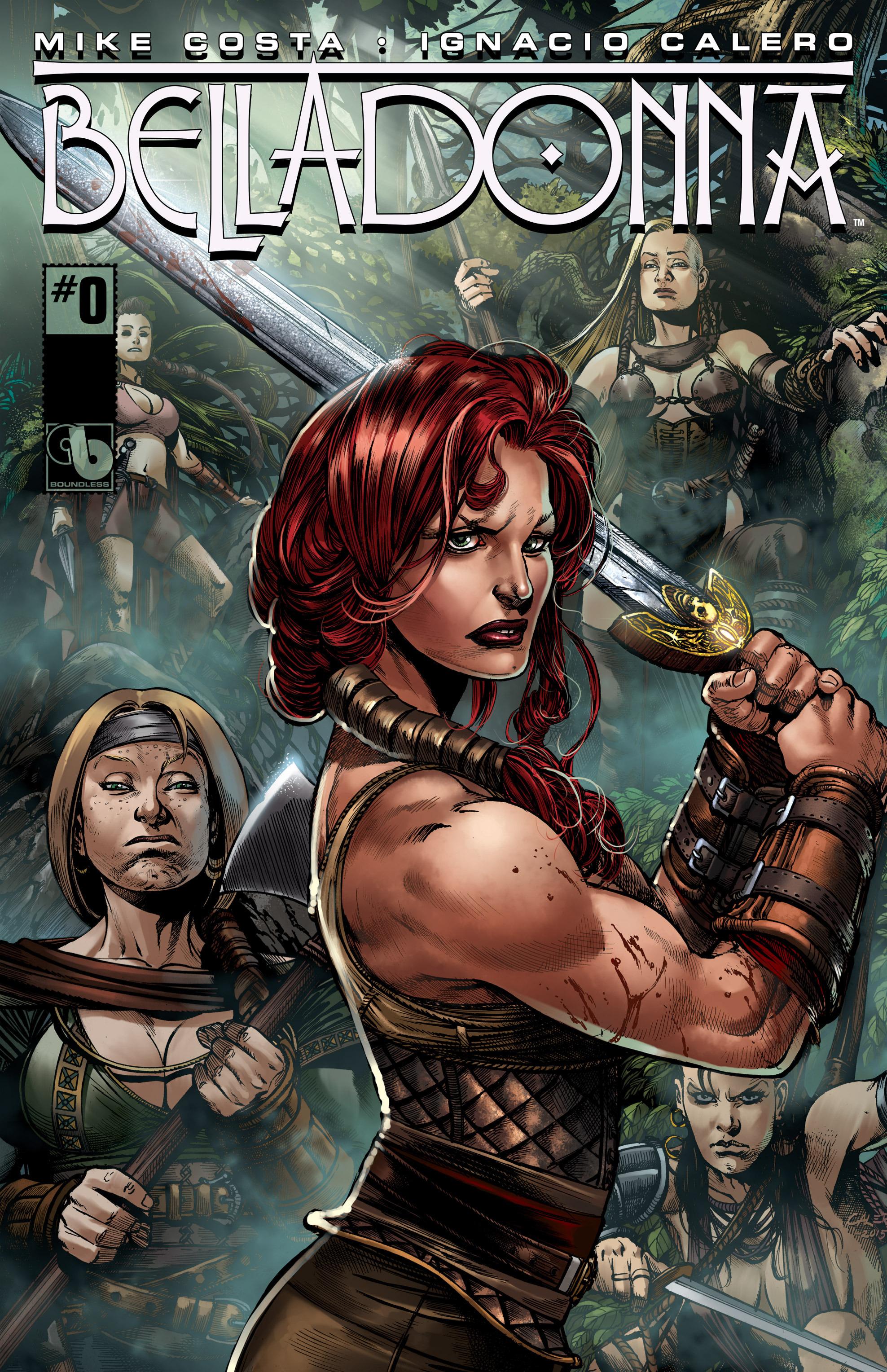 Read online Belladonna comic -  Issue #0 - 1
