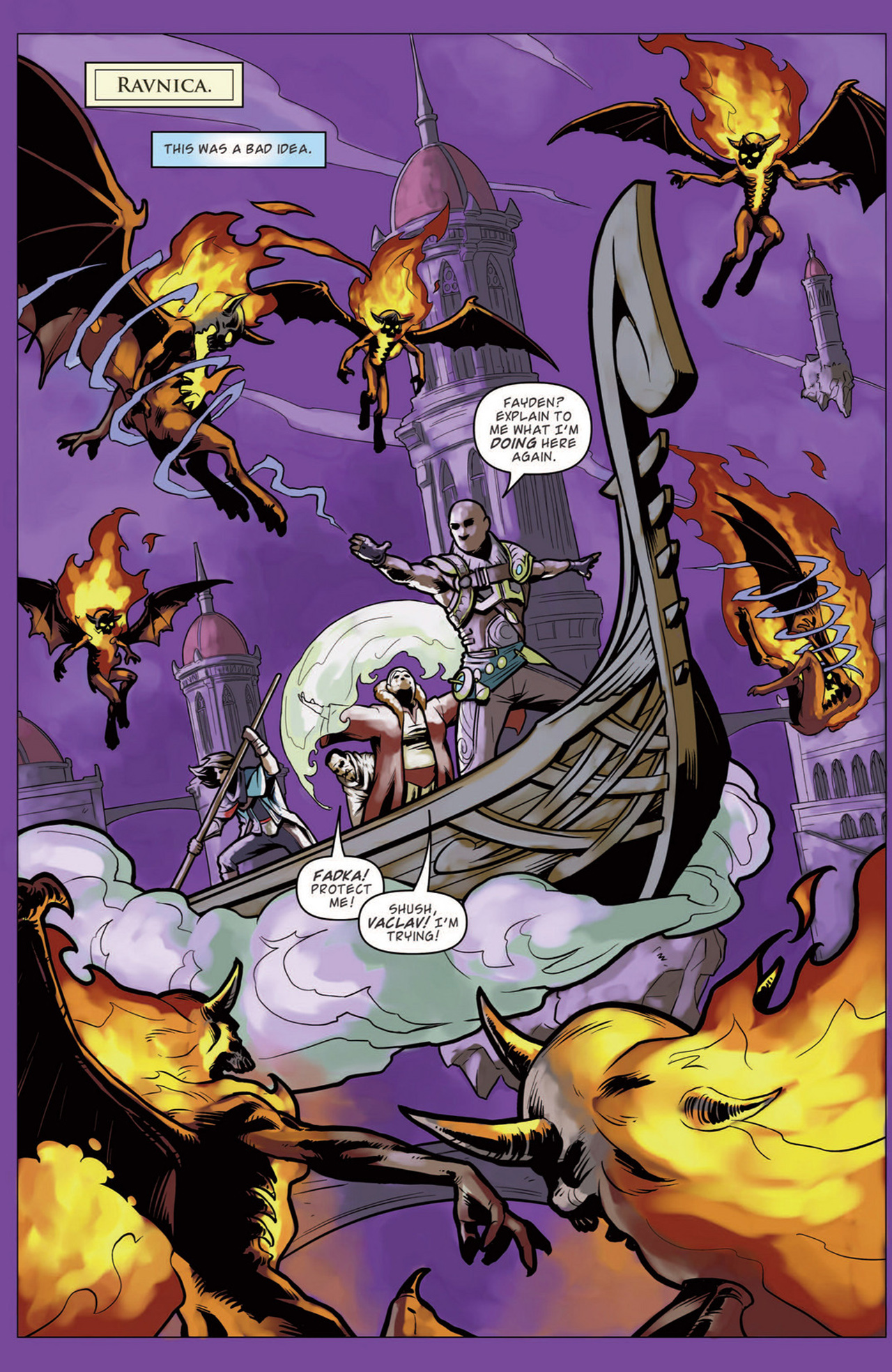 Read online Magic: The Gathering--Path of Vengeance comic -  Issue #3 - 3