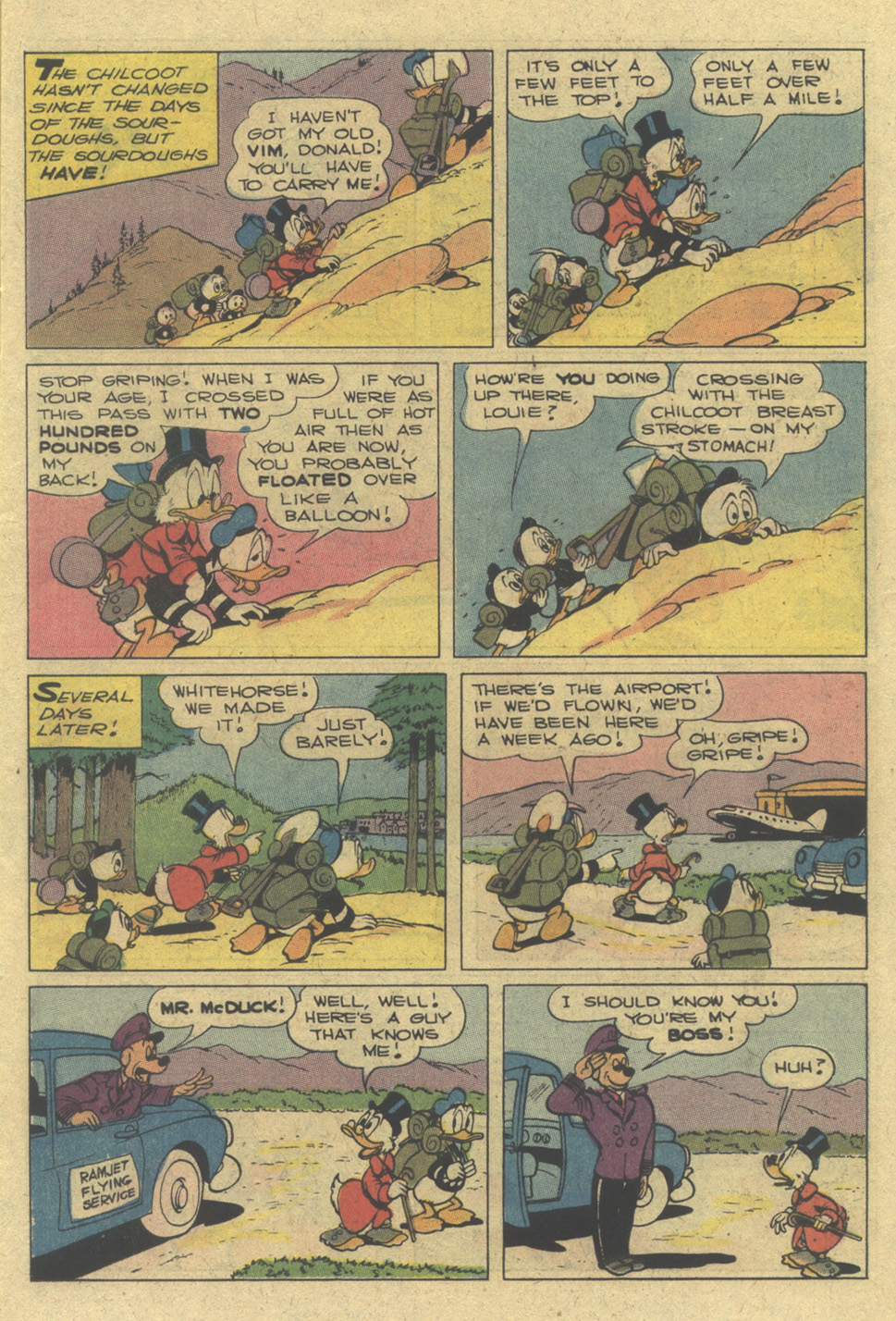 Uncle Scrooge (1953) Issue #142 #142 - English 11