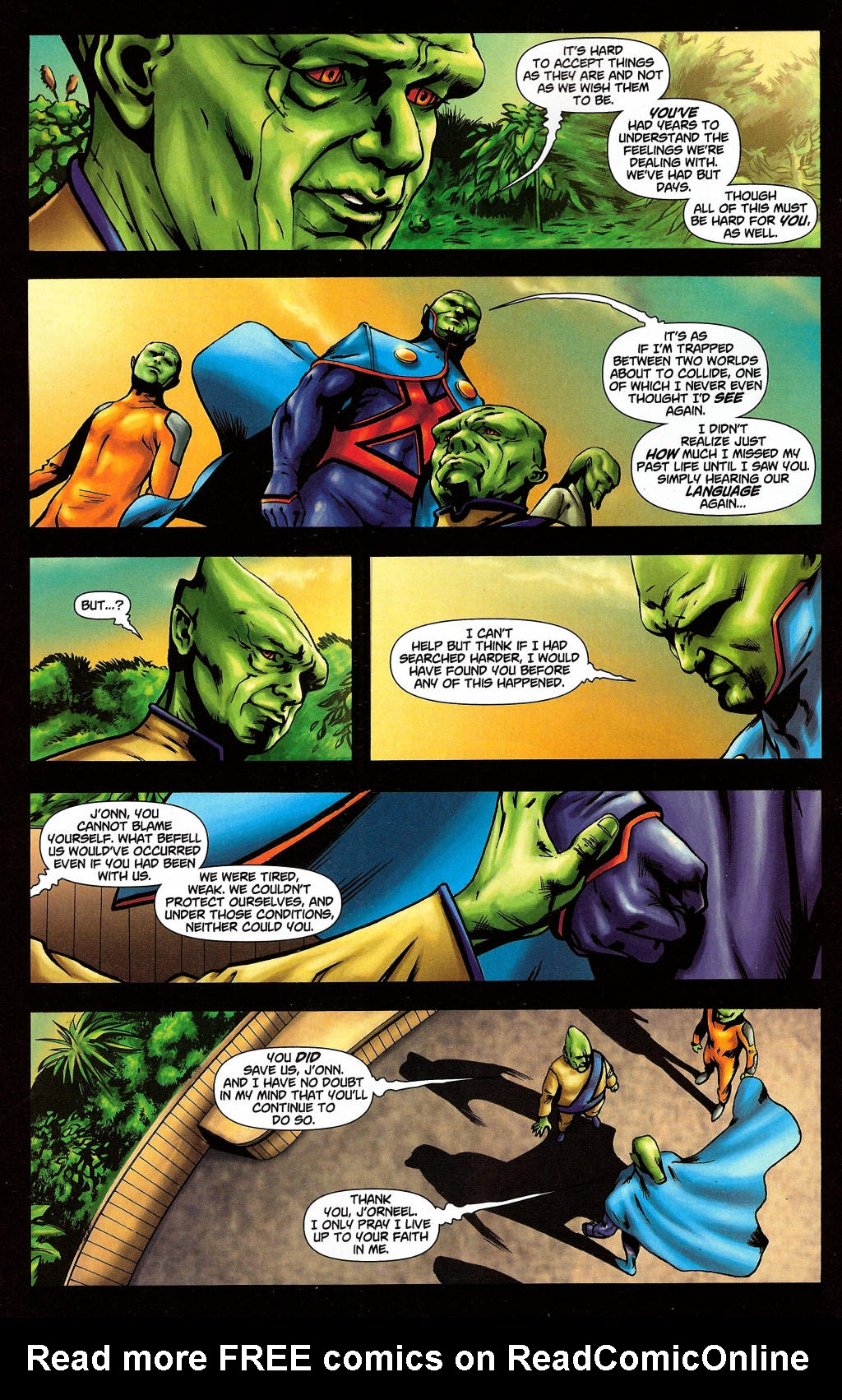 Read online Martian Manhunter (2006) comic -  Issue #4 - 17