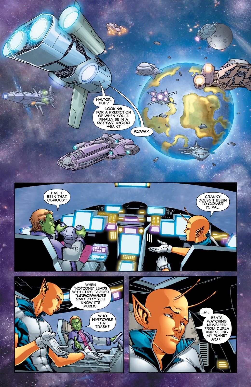 Legion of Super-Heroes (2010) Issue #7 #8 - English 24