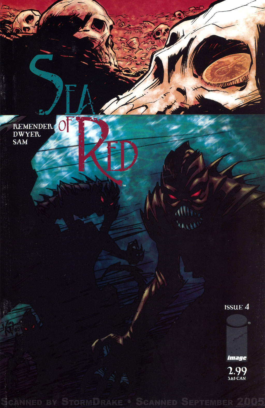 Read online Sea of Red comic -  Issue #4 - 1