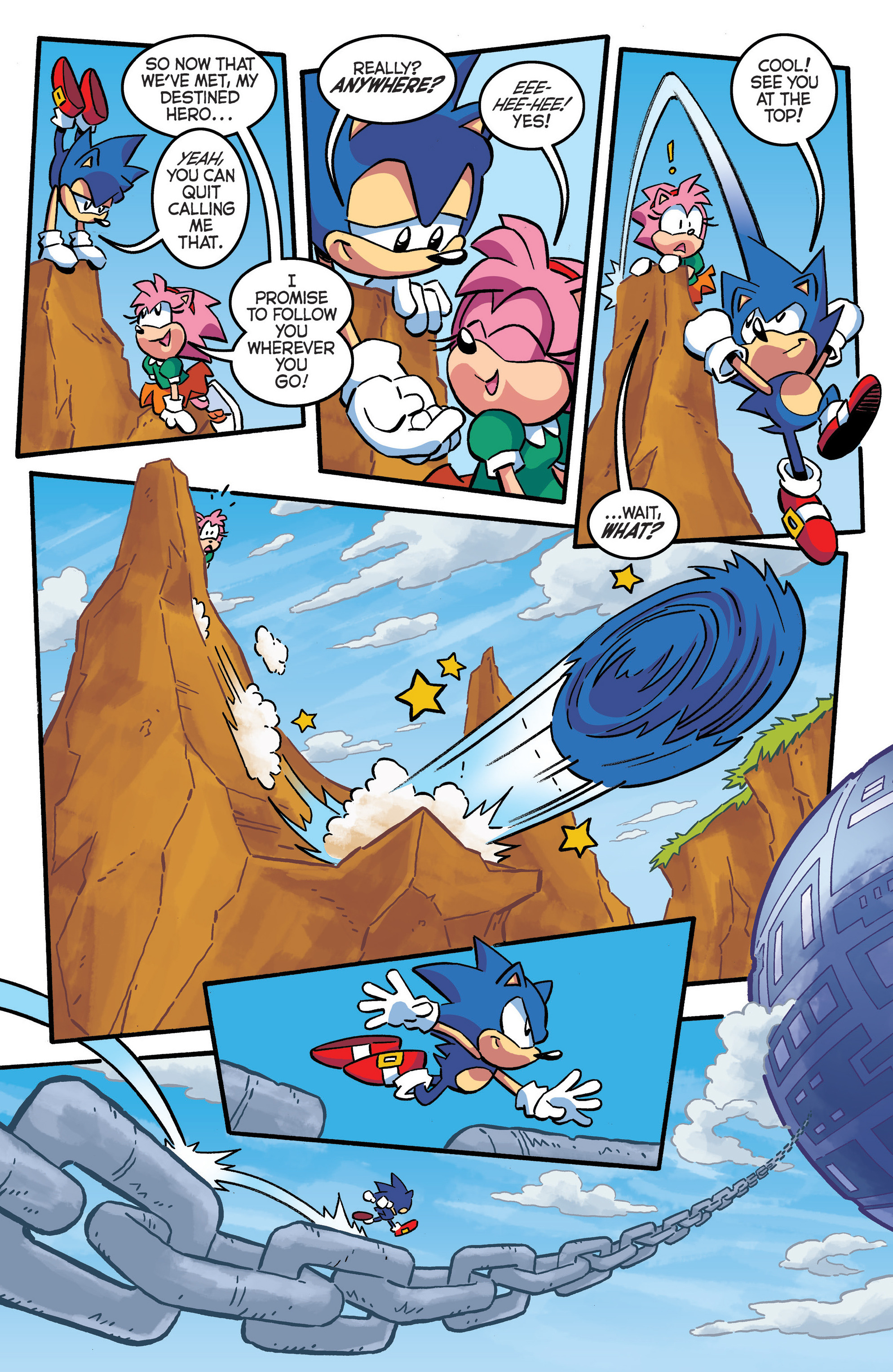 Sonic The Hedgehog (1993) - Chapter  290 | pic 7