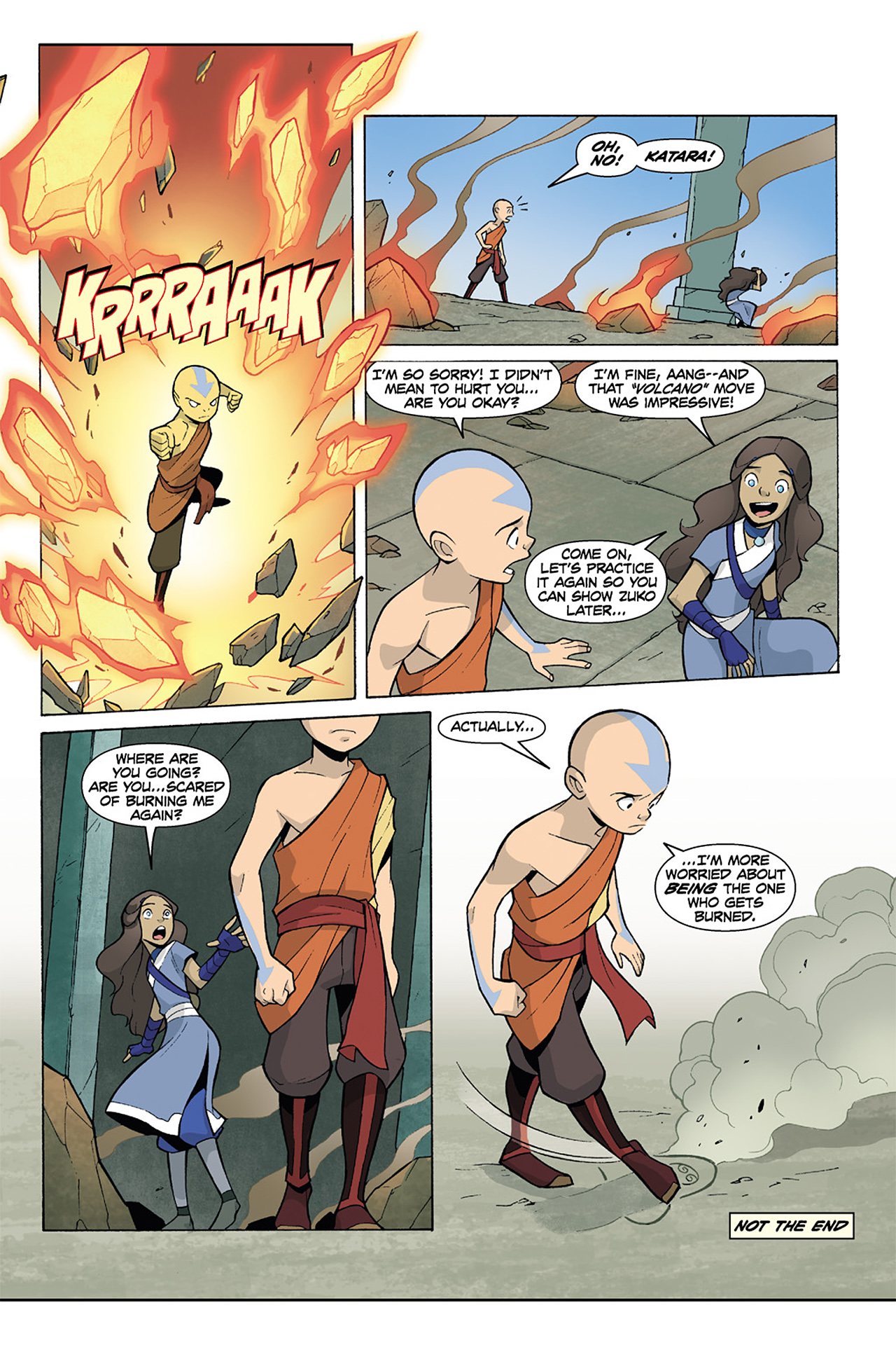 Nickelodeon Avatar: The Last Airbender - The Lost Adventures chap full pic 195