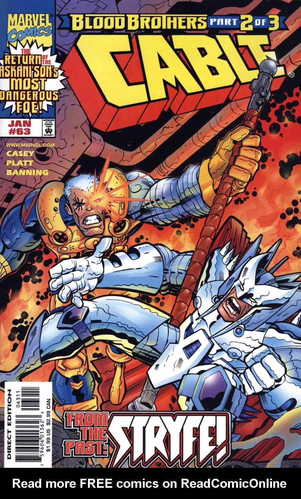 Cable (1993) 63 Page 1
