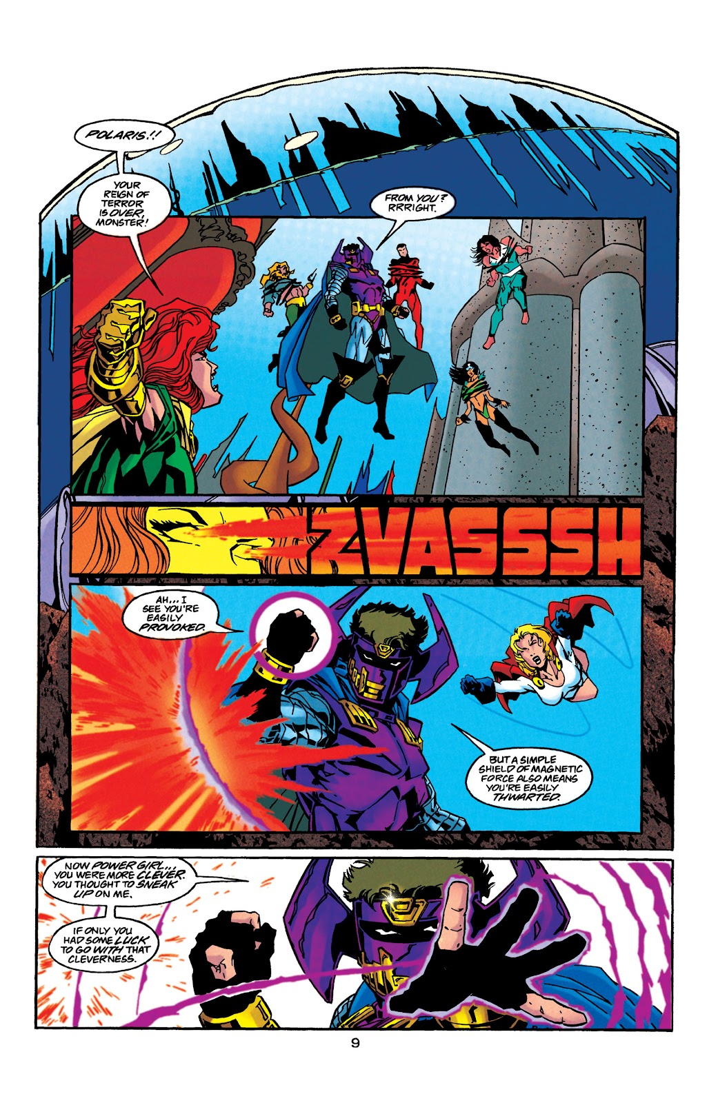 Aquaman (1994) Issue #41 #47 - English 10