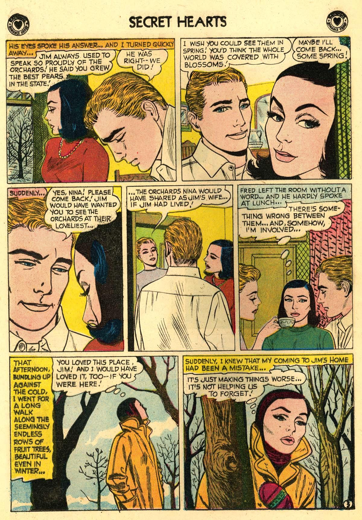 Read online Secret Hearts comic -  Issue #56 - 20