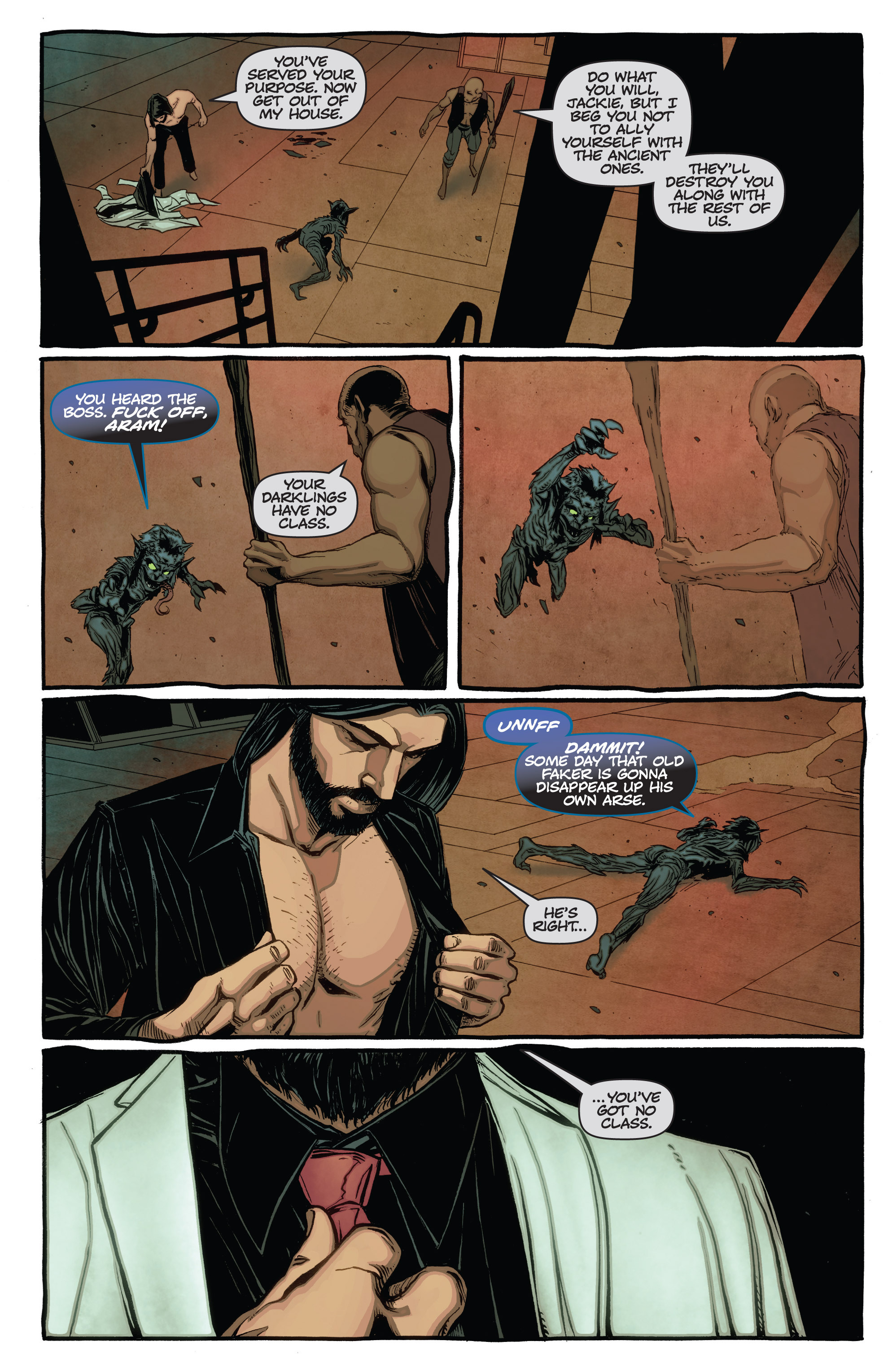 Read online The Darkness (2007) comic -  Issue #115 - 18