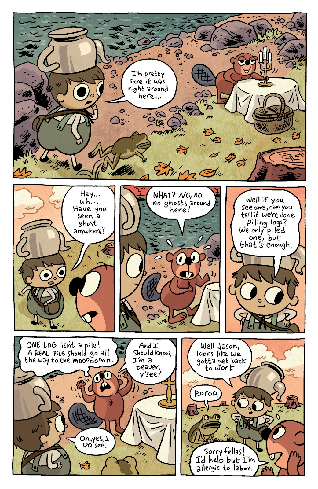 Over the Garden Wall (2016) Issue #4 #4 - English 5