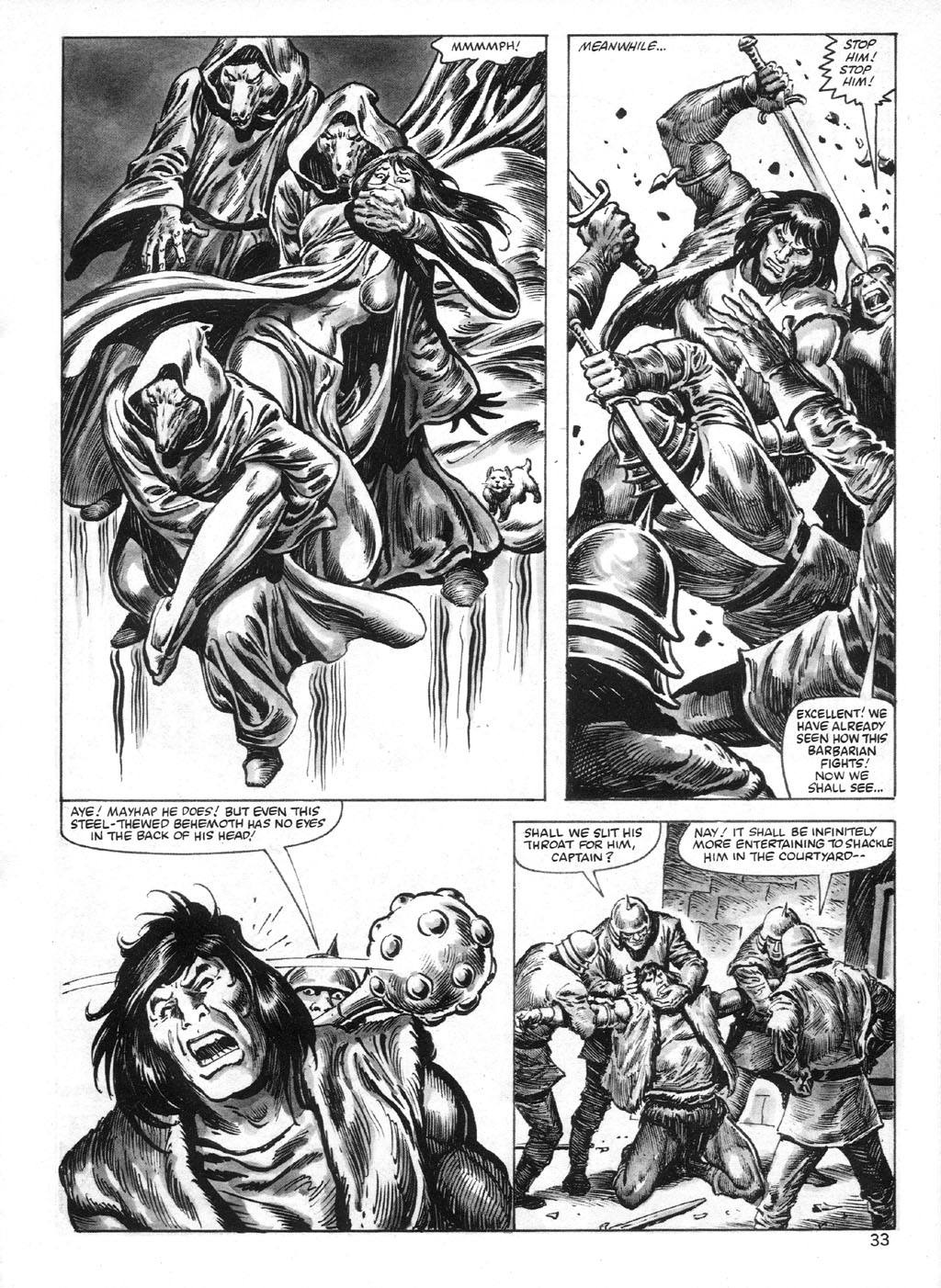 The Savage Sword Of Conan Issue #95 #96 - English 33