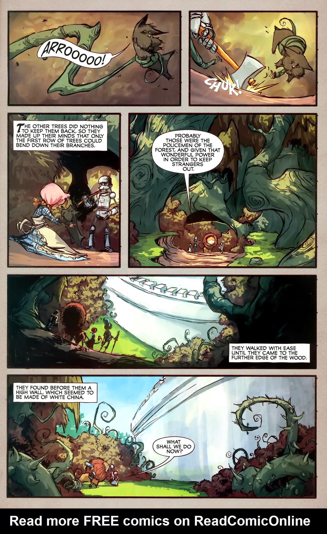 Read online The Wonderful Wizard of Oz comic -  Issue #7 - 23