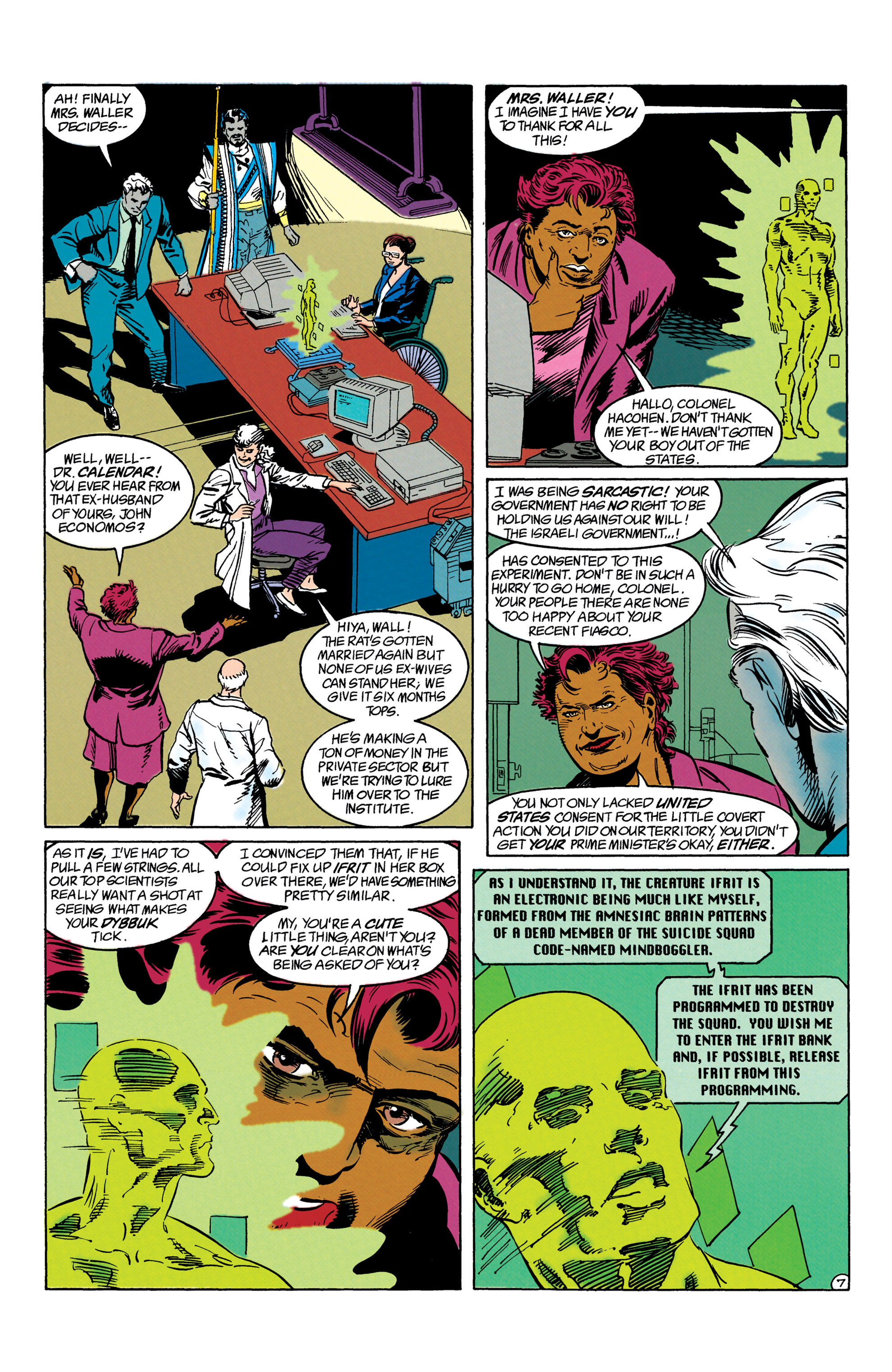 Read online Suicide Squad (1987) comic -  Issue #63 - 8