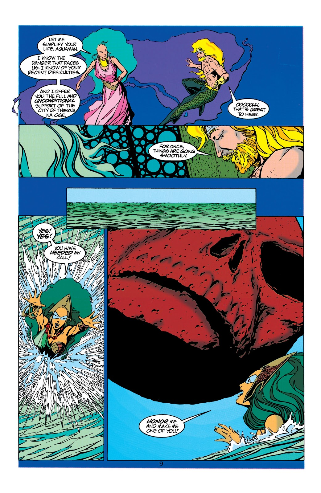 Aquaman (1994) Issue #21 #27 - English 10