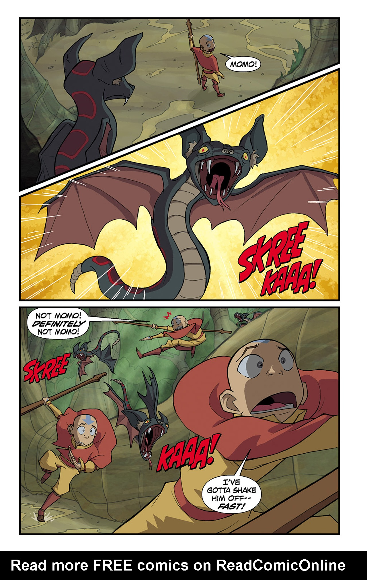 Nickelodeon Avatar: The Last Airbender - The Lost Adventures chap full pic 63