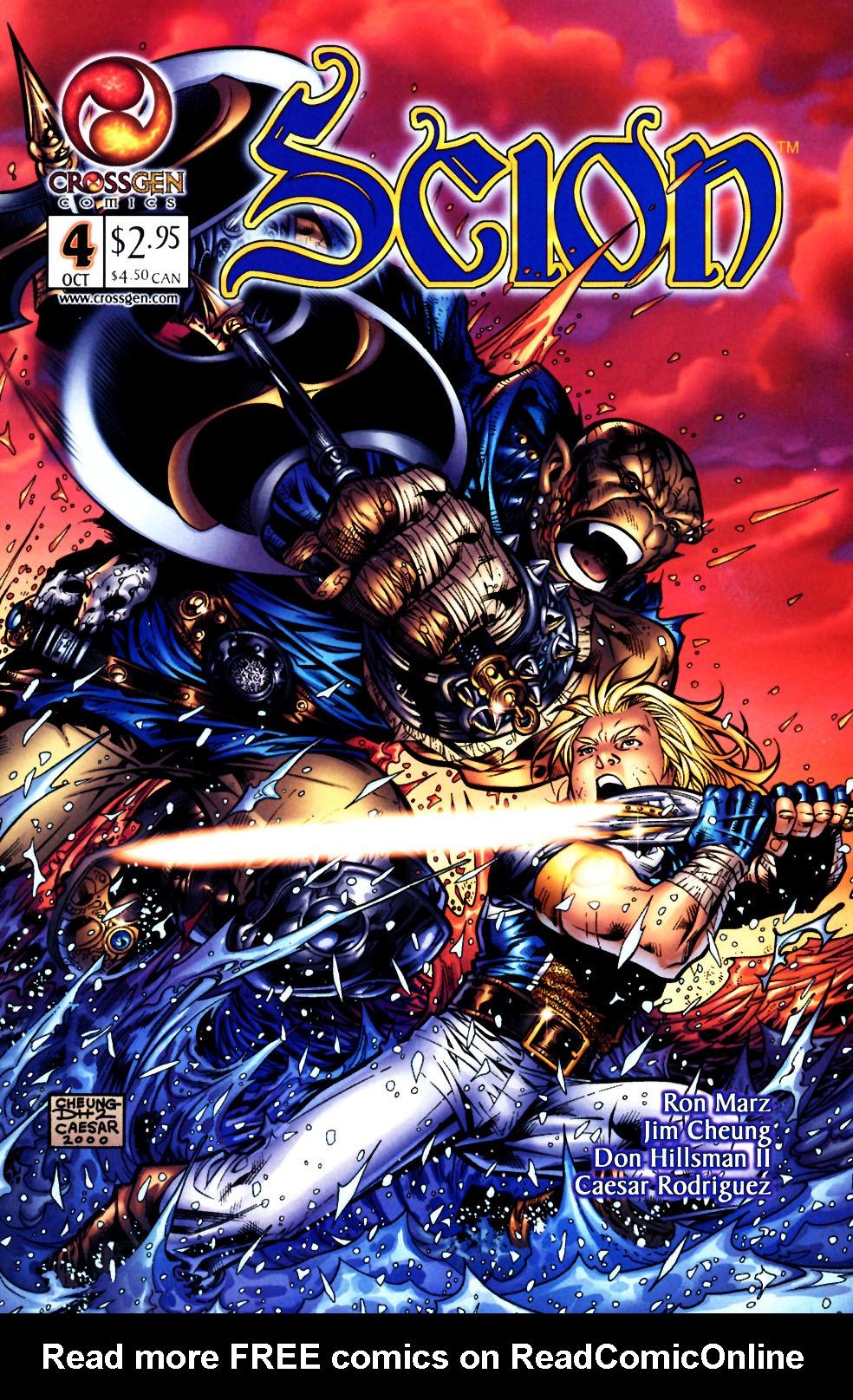 Read online Scion comic -  Issue #4 - 1