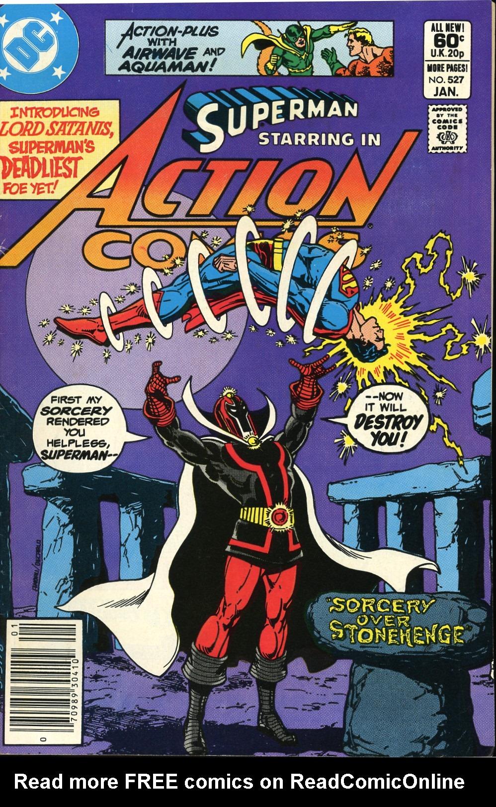 Action Comics (1938) 527 Page 1