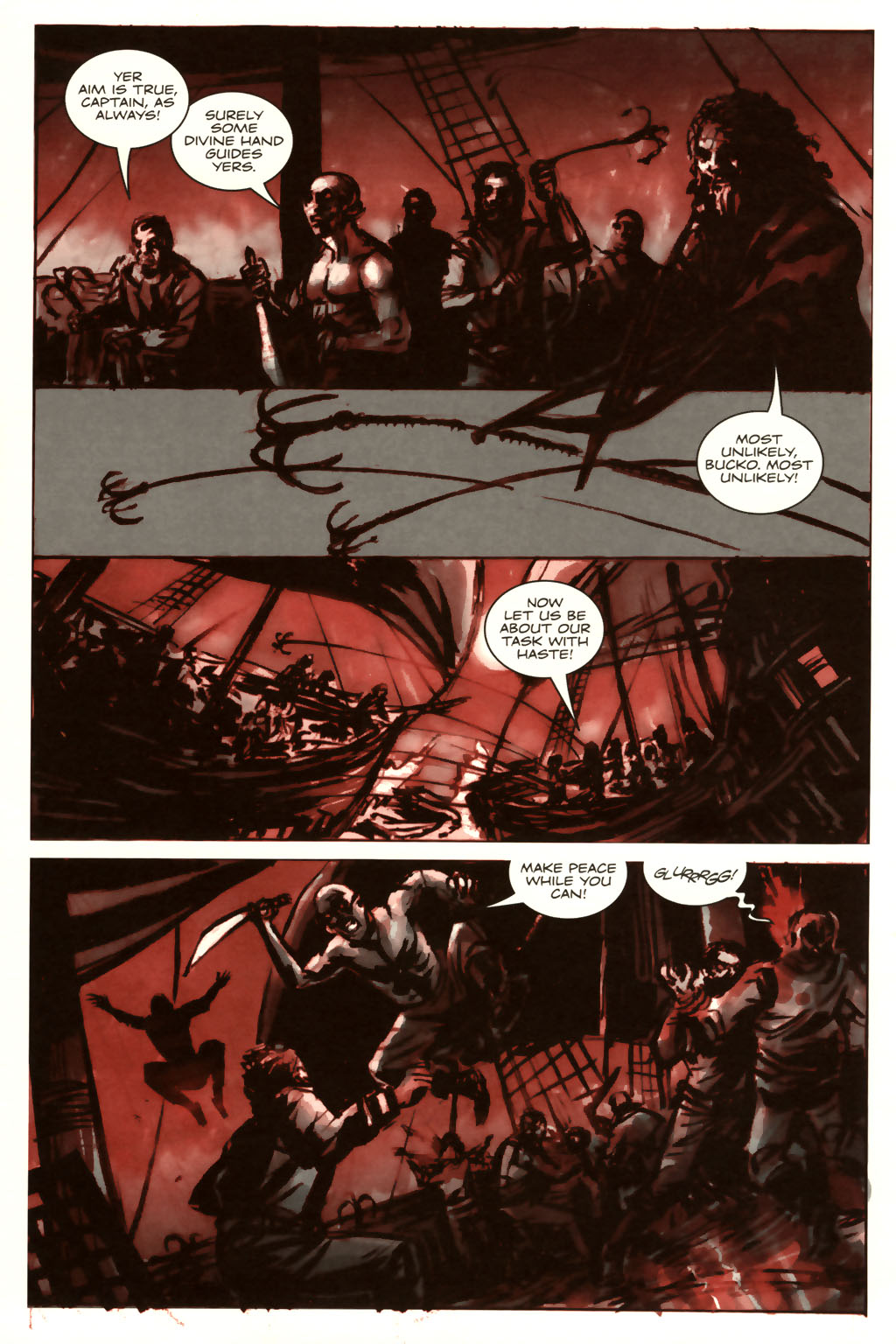 Read online Sea of Red comic -  Issue #9 - 15