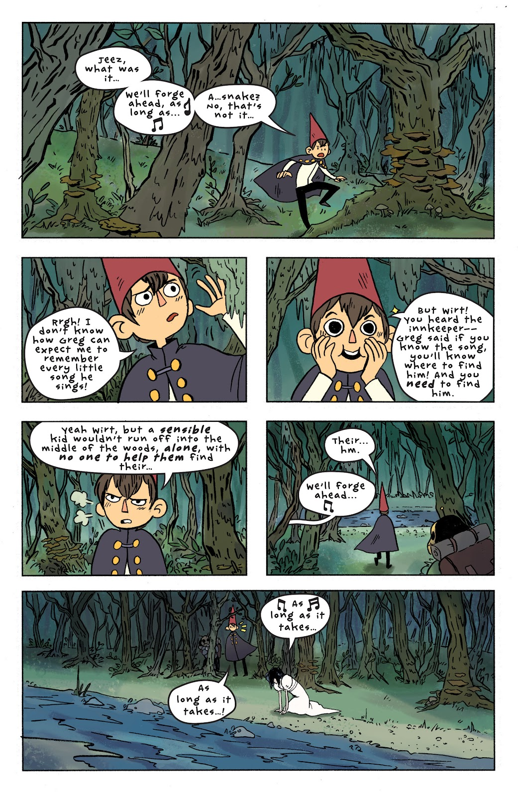 Over the Garden Wall (2016) Issue #7 #7 - English 14