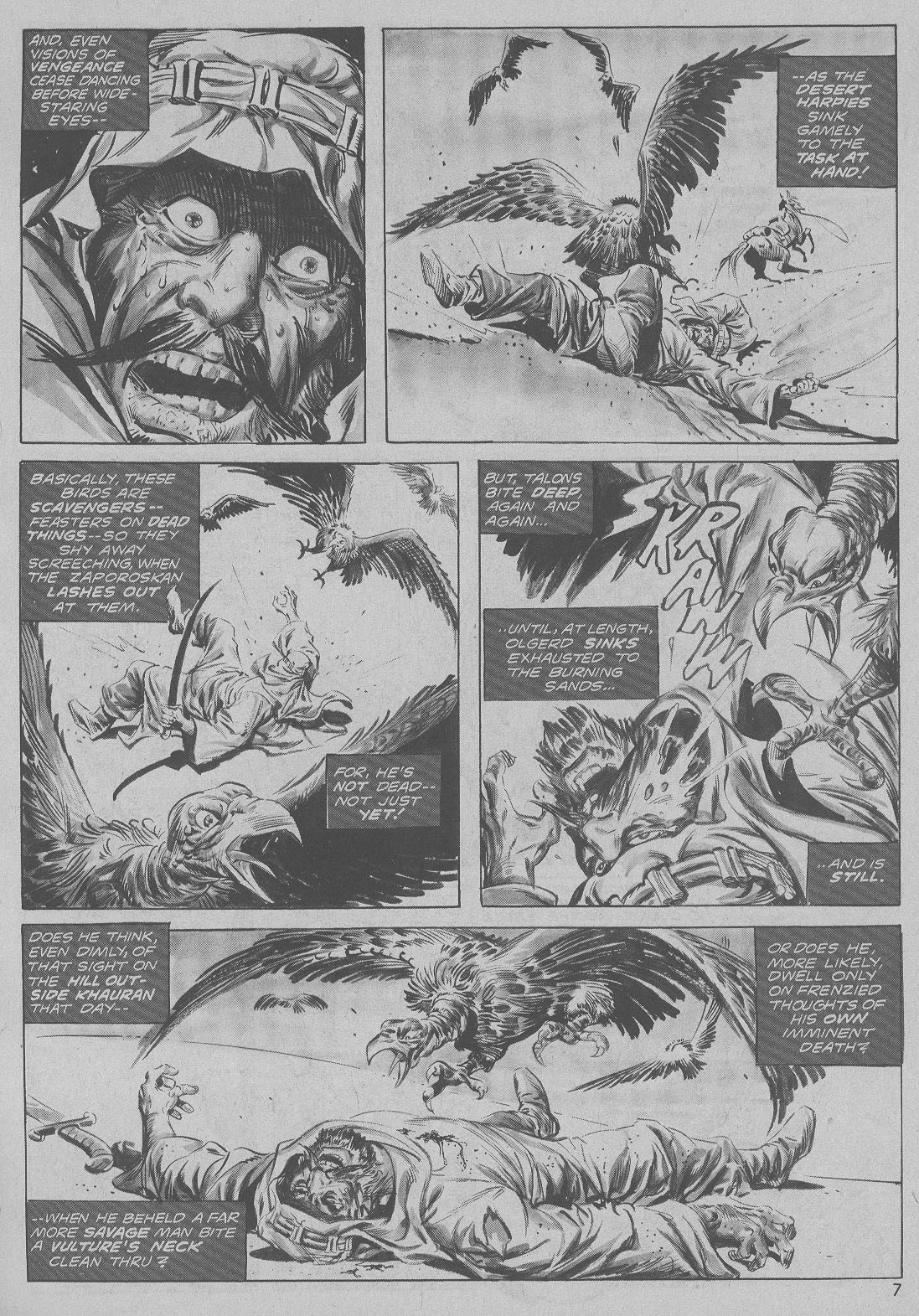 The Savage Sword Of Conan Issue #6 #7 - English 7