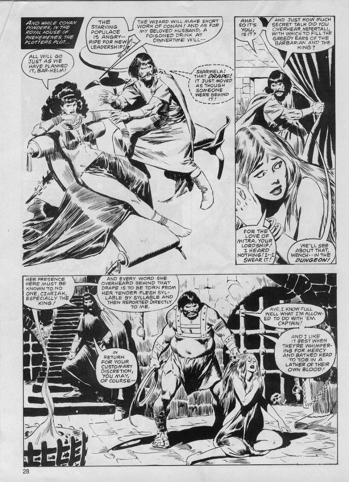 The Savage Sword Of Conan Issue #61 #62 - English 28