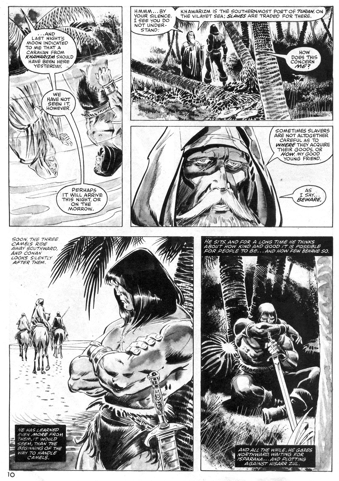 The Savage Sword Of Conan Issue #55 #56 - English 10