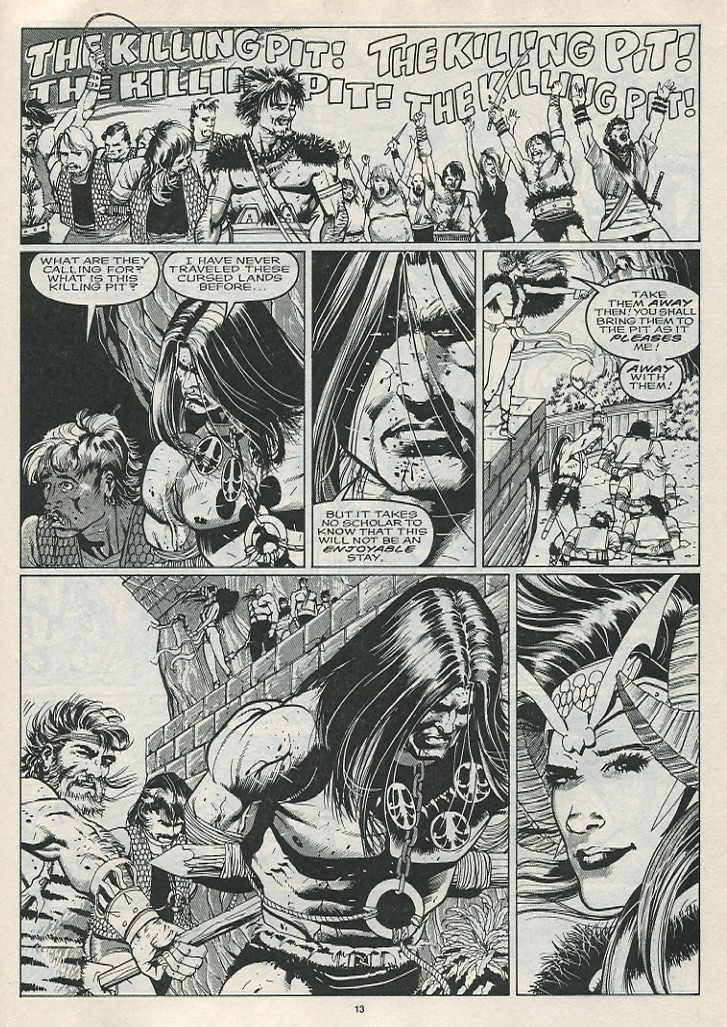 The Savage Sword Of Conan Issue #176 #177 - English 15