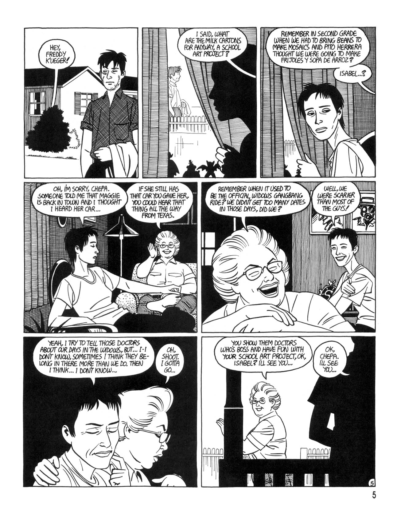 Love and Rockets (1982) #35 #35 - English 7