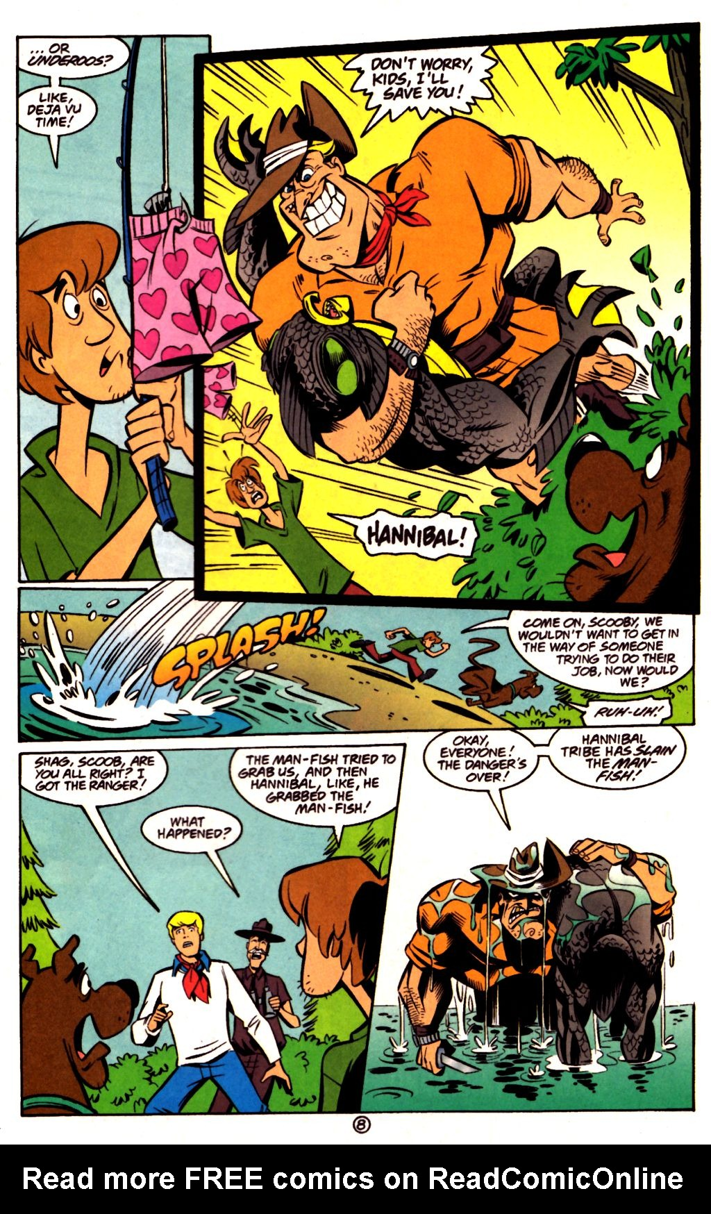 Read online Scooby-Doo (1997) comic -  Issue #23 - 22