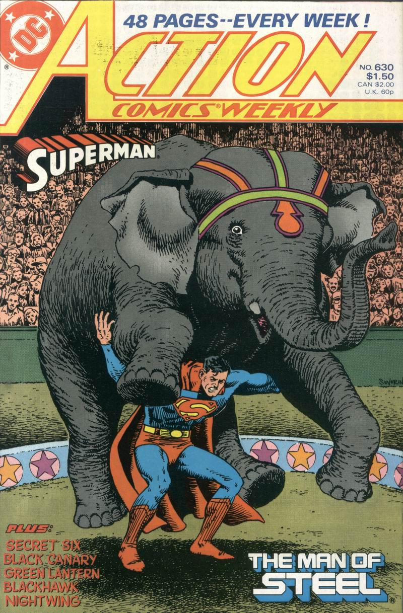 Action Comics (1938) 630 Page 1