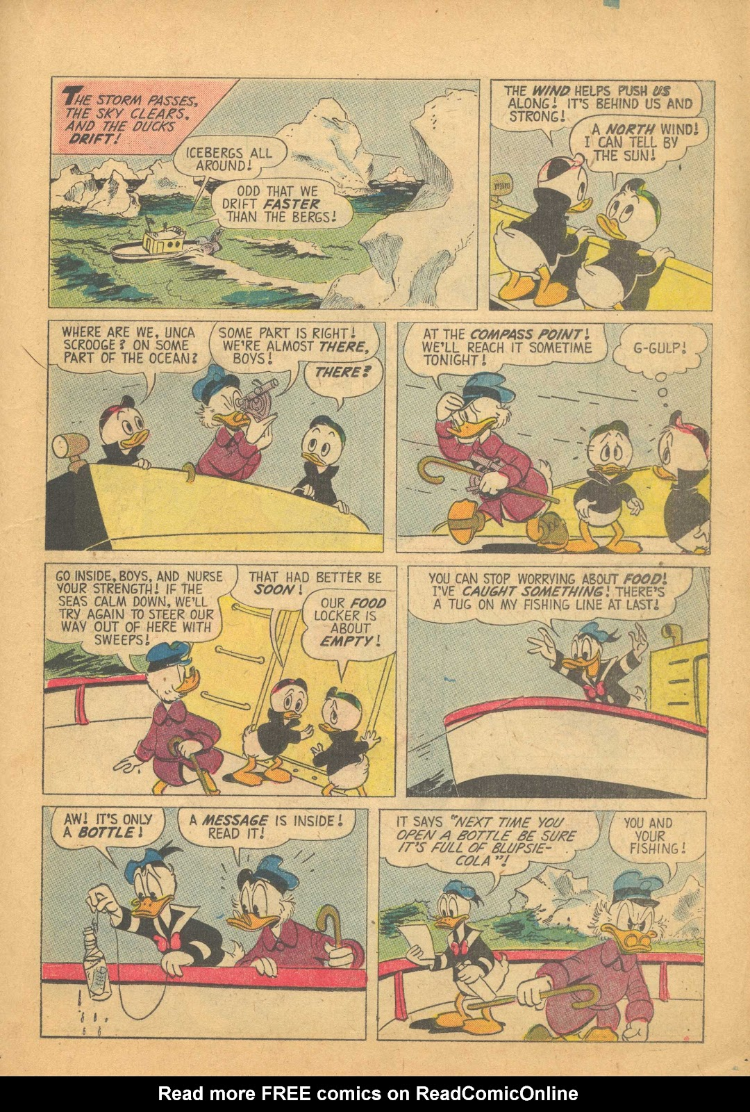 Uncle Scrooge (1953) Issue #25 #25 - English 19