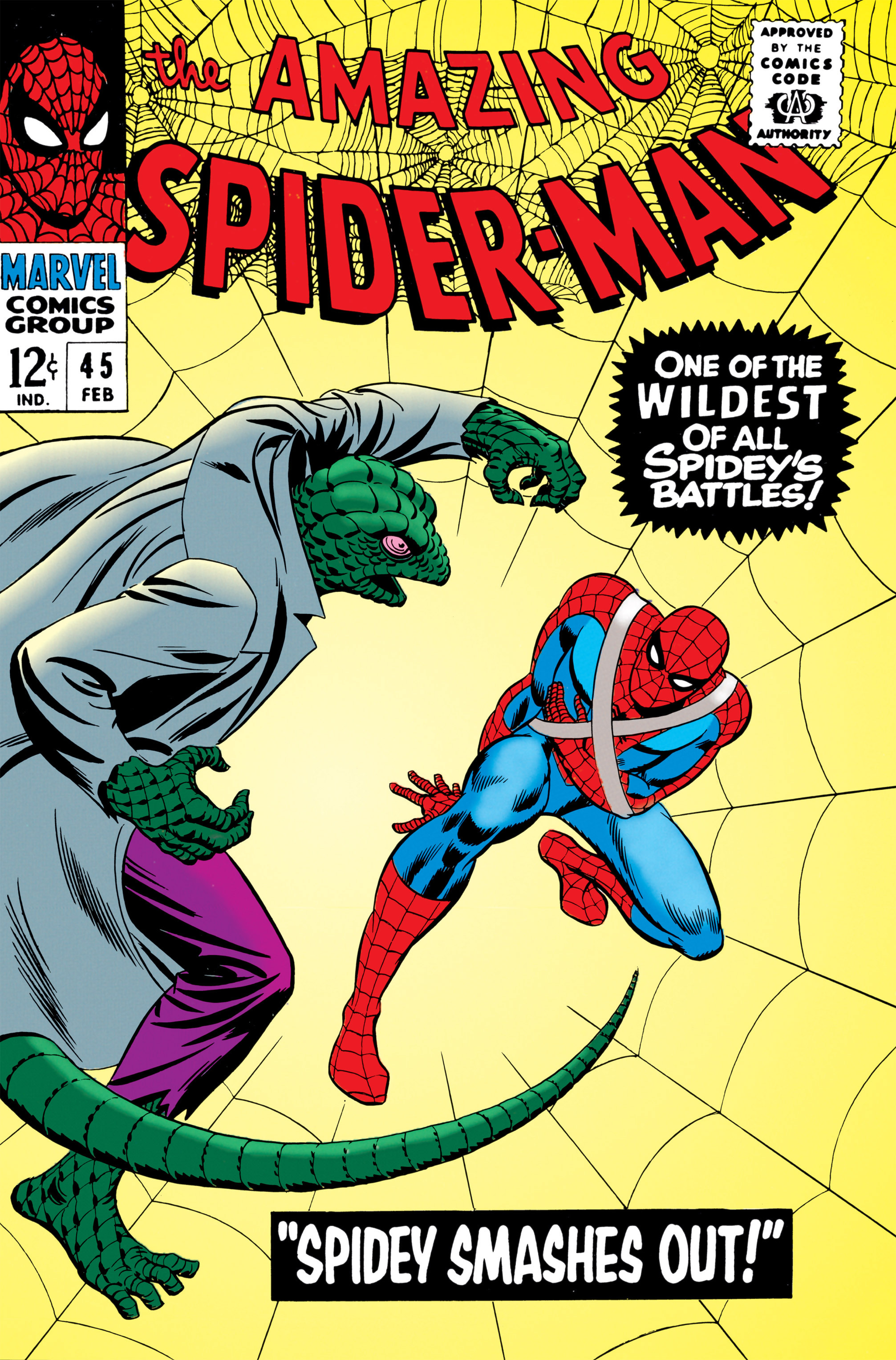 The Amazing Spider-Man (1963) 45 Page 1