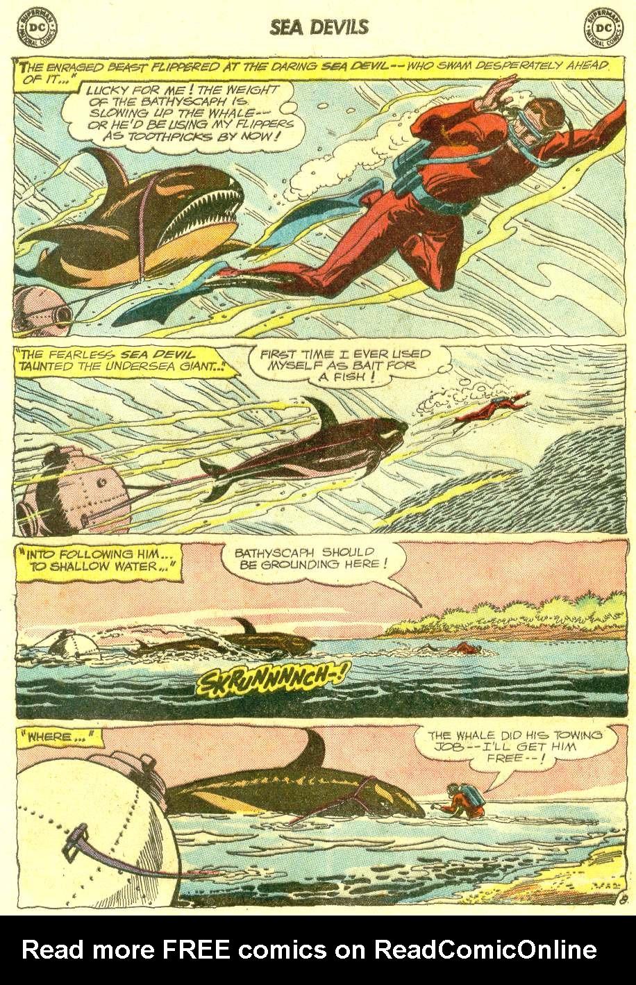 Read online Sea Devils comic -  Issue #12 - 12
