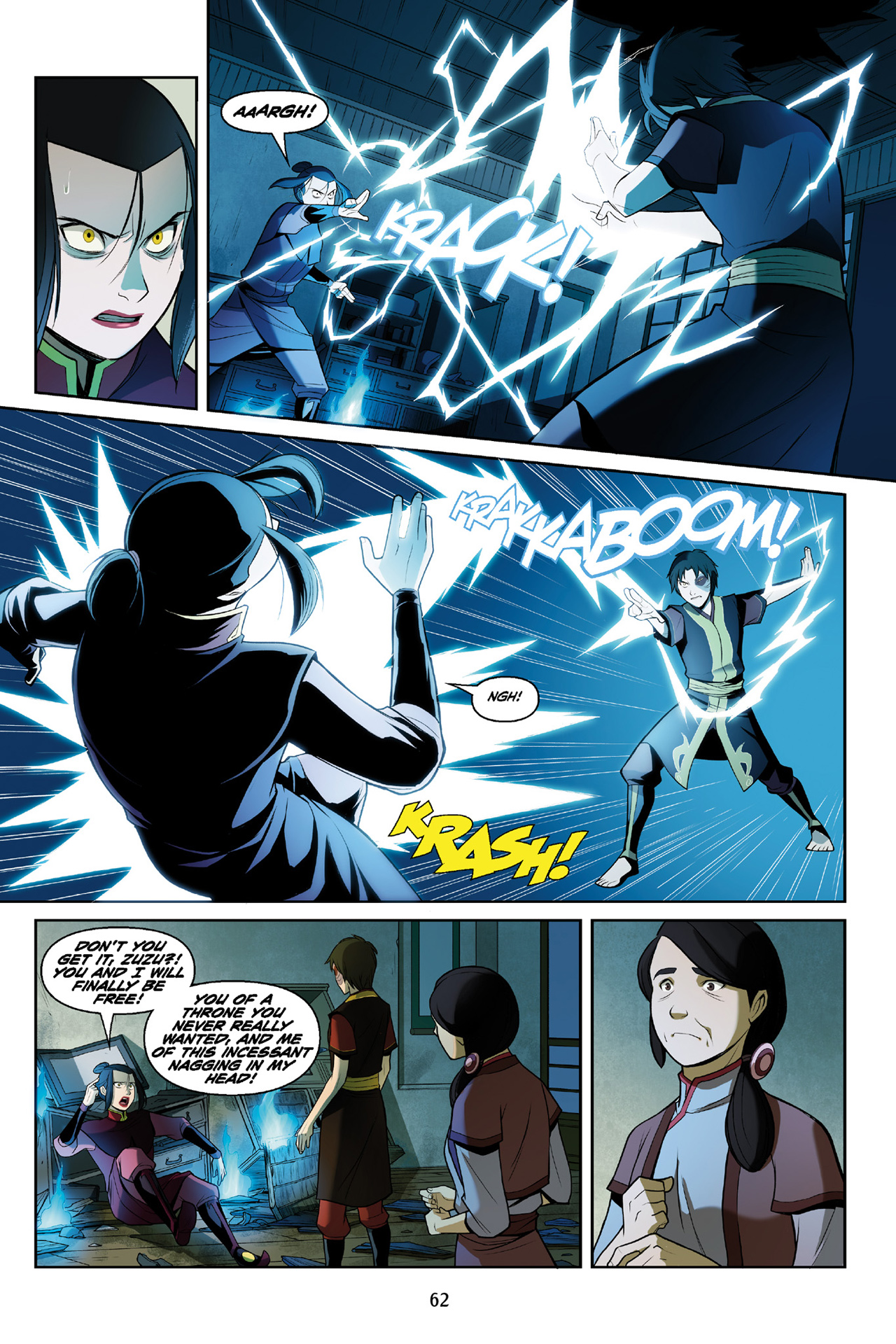 Read online Nickelodeon Avatar: The Last Airbender - The Search comic -  Issue # Part 3 - 63