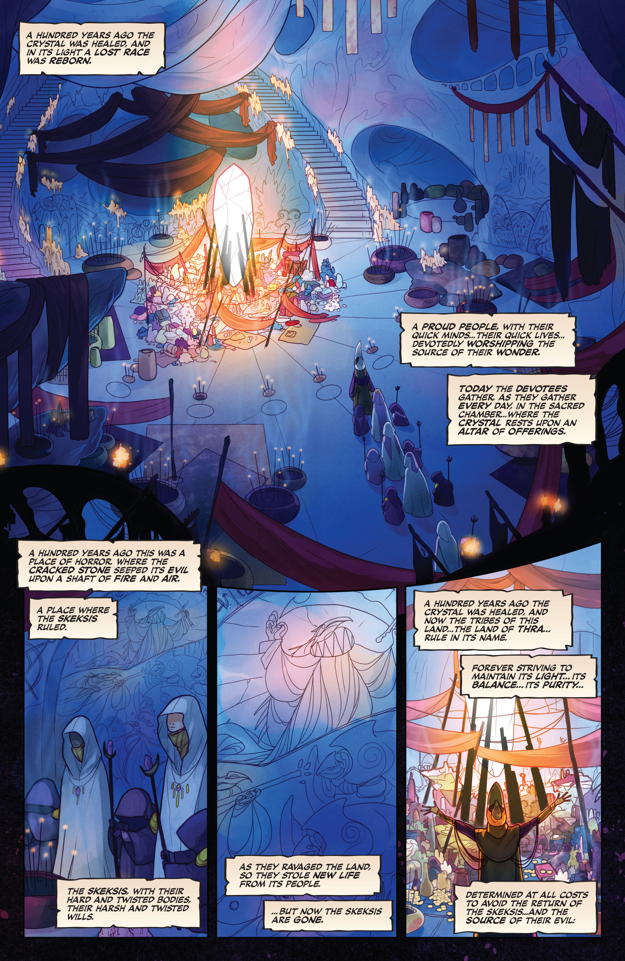 The Power of the Dark Crystal 1 Page 4