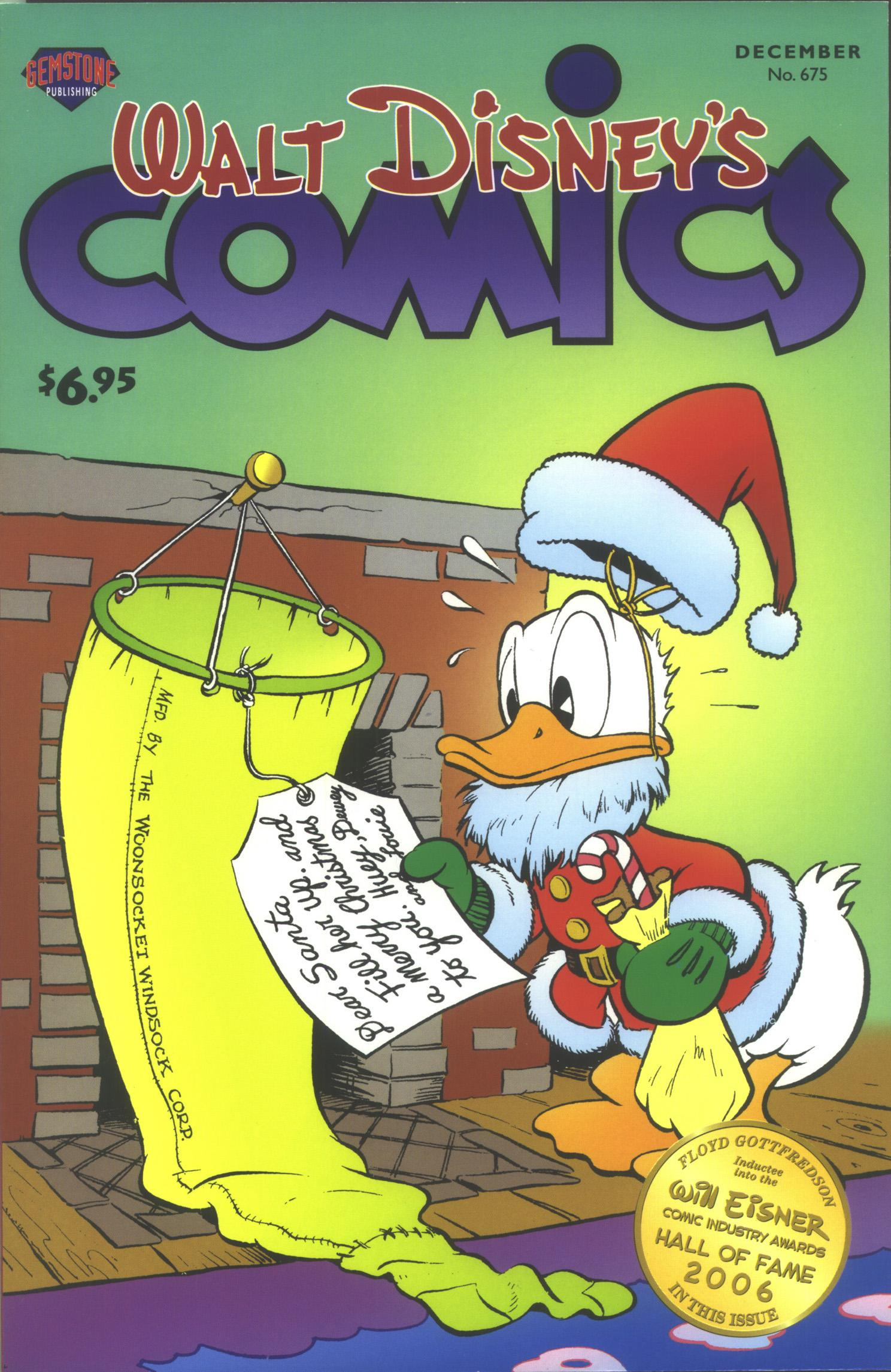 Walt Disney's Comics and Stories issue 675 - Page 1