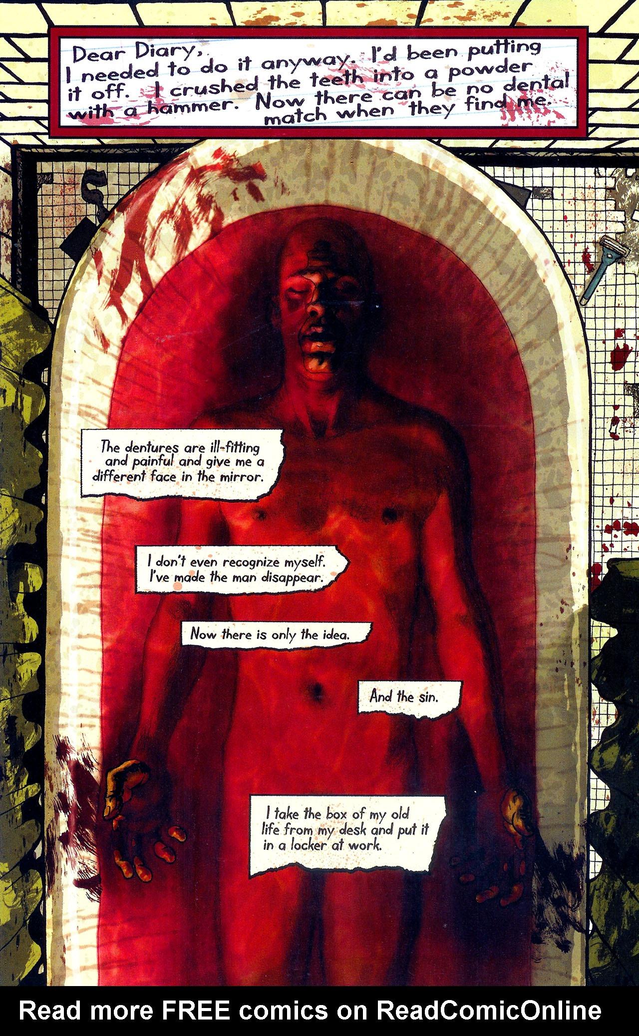 Read online Se7en comic -  Issue #6 - 18