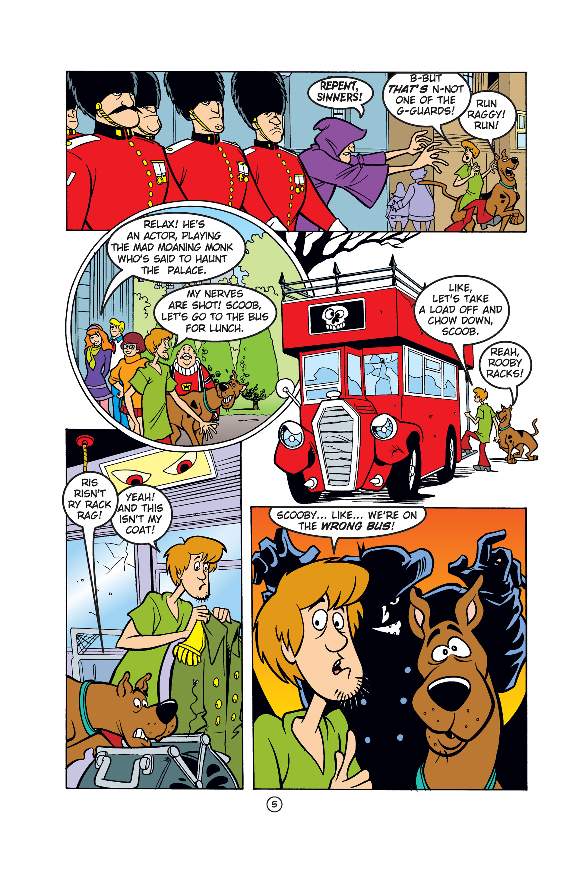 Read online Scooby-Doo: Where Are You? comic -  Issue #52 - 16