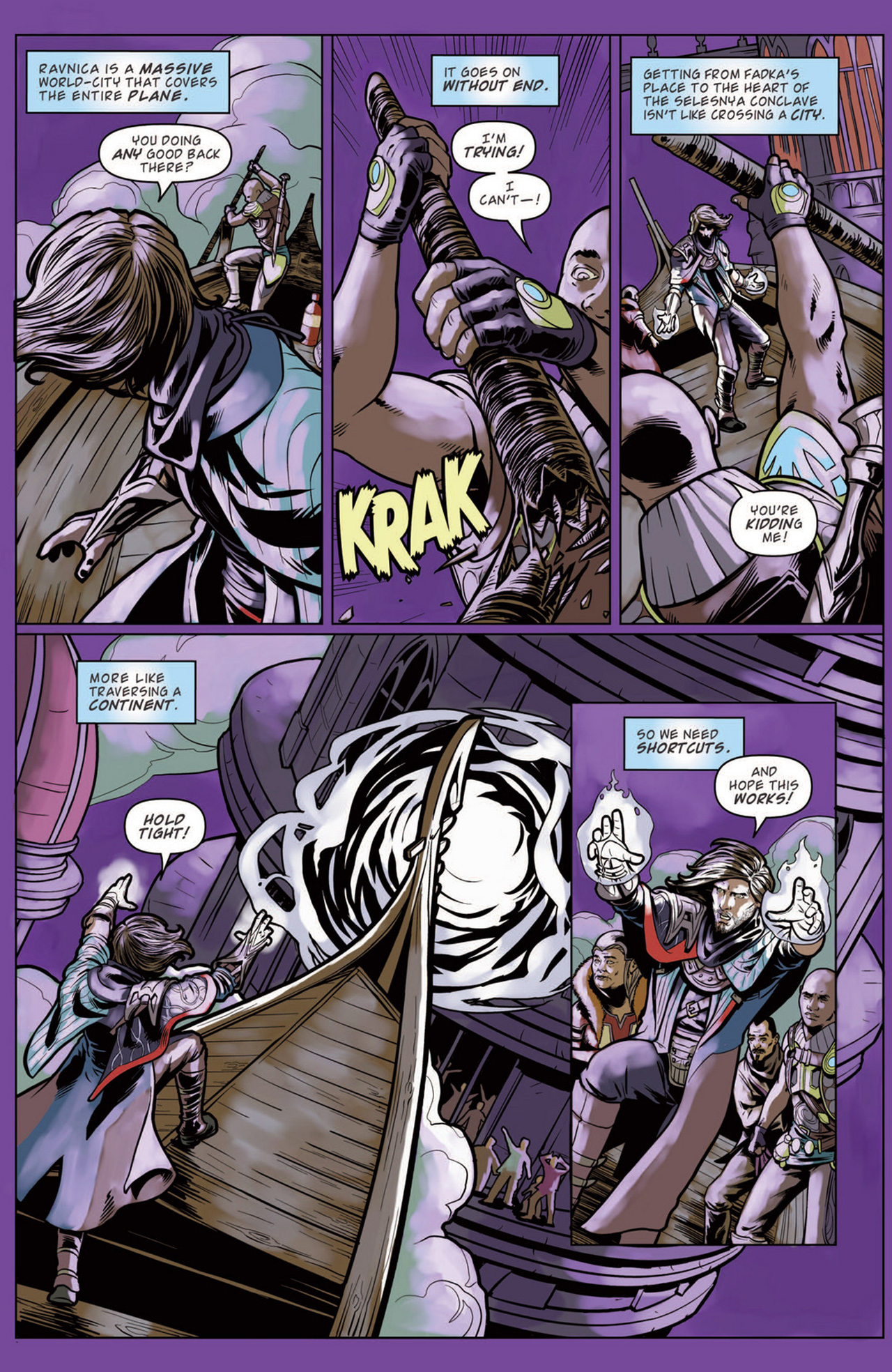 Read online Magic: The Gathering--Path of Vengeance comic -  Issue #3 - 9