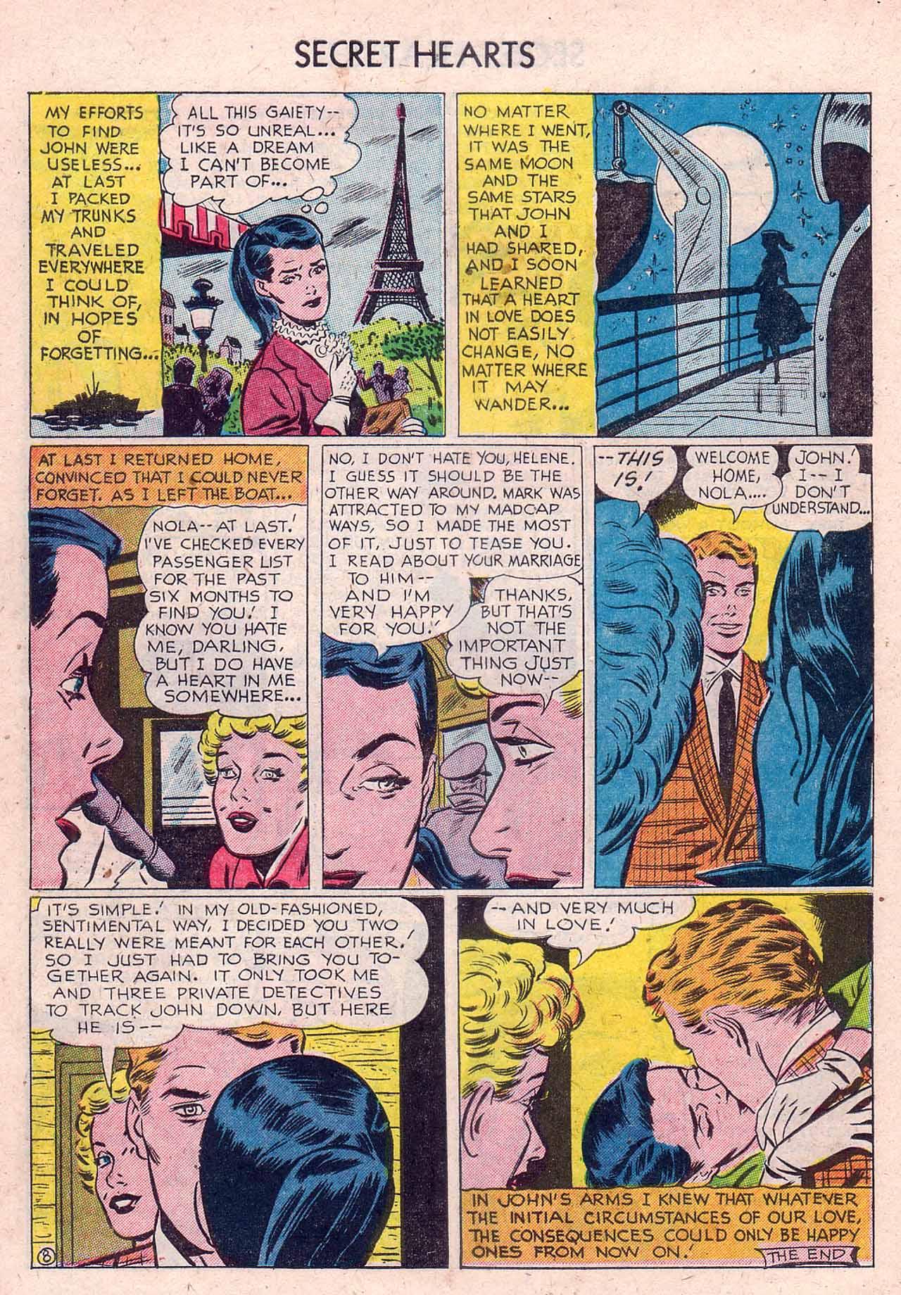 Read online Secret Hearts comic -  Issue #12 - 10