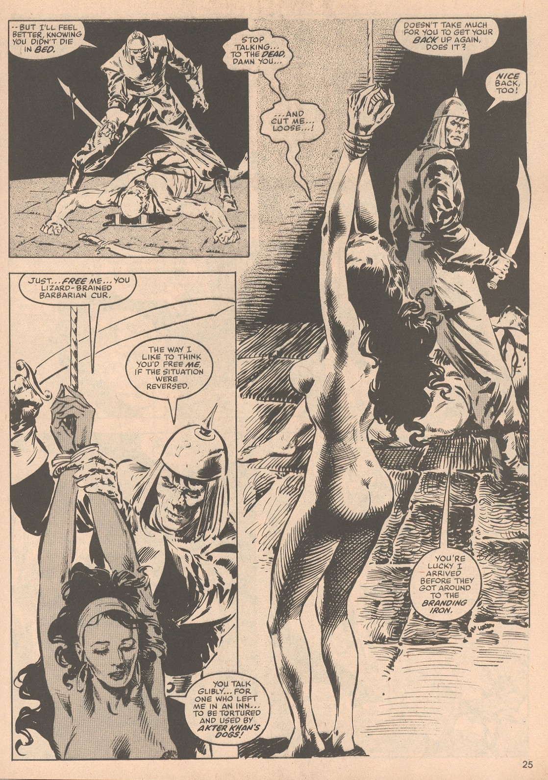 The Savage Sword Of Conan Issue #58 #59 - English 26